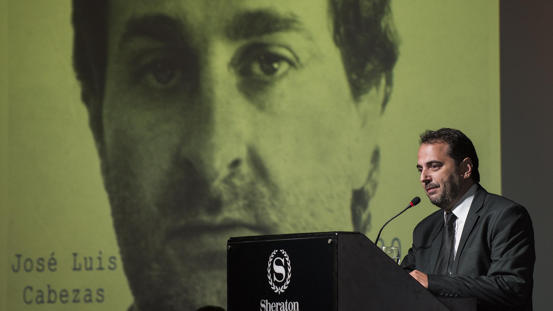 Gabriel Michi recordando a José Luis Cabezas