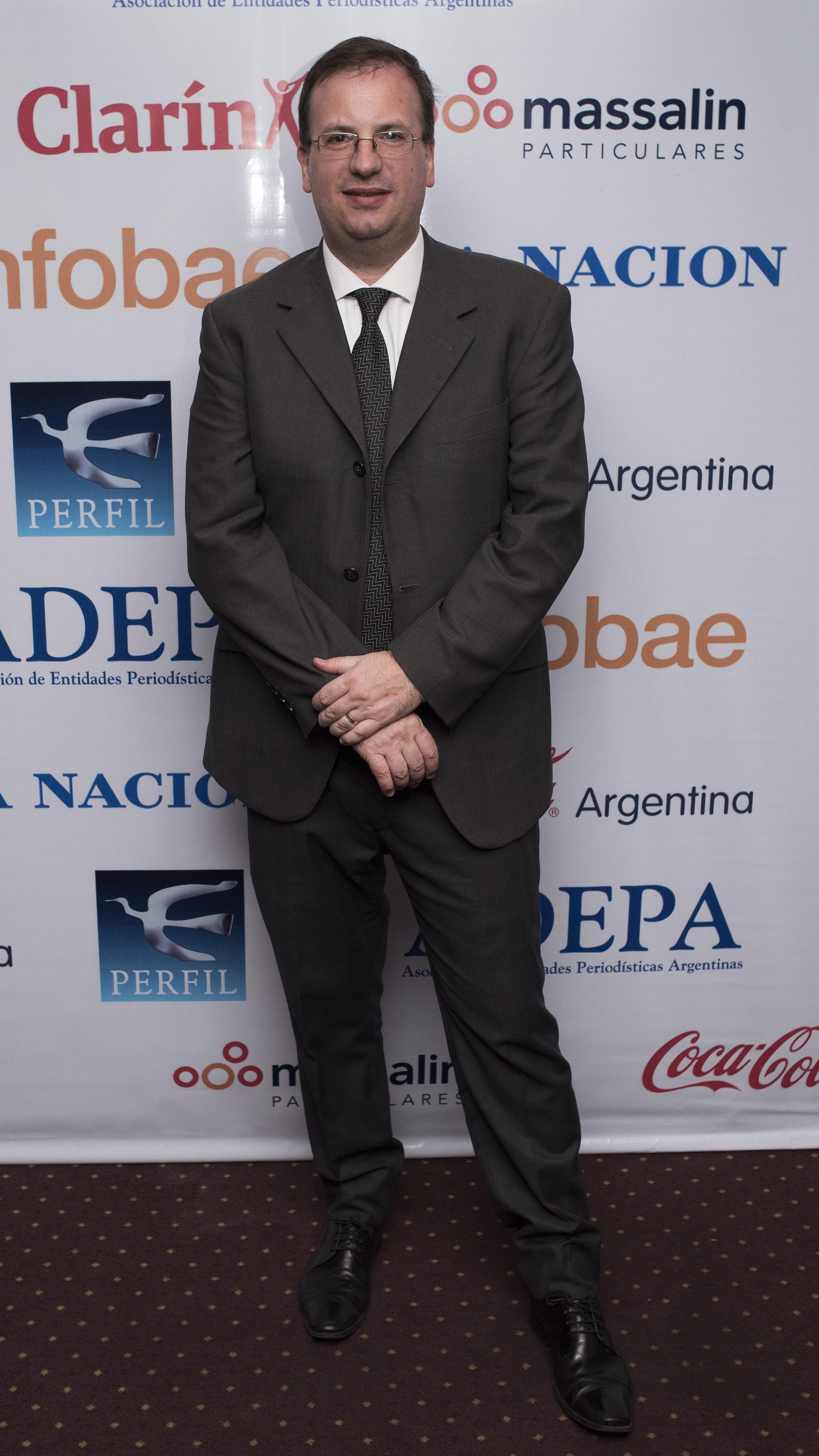 Andrés D' Alessandro, director ejecutivo de ADEPA