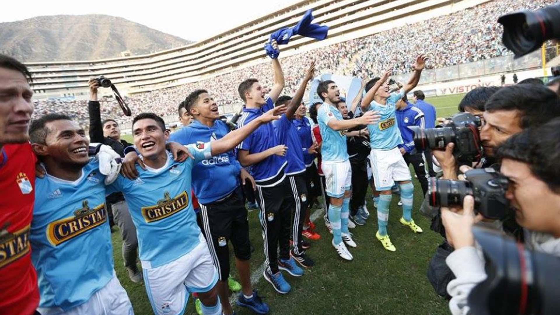Sporting Cristal se coronó como el mejor de año