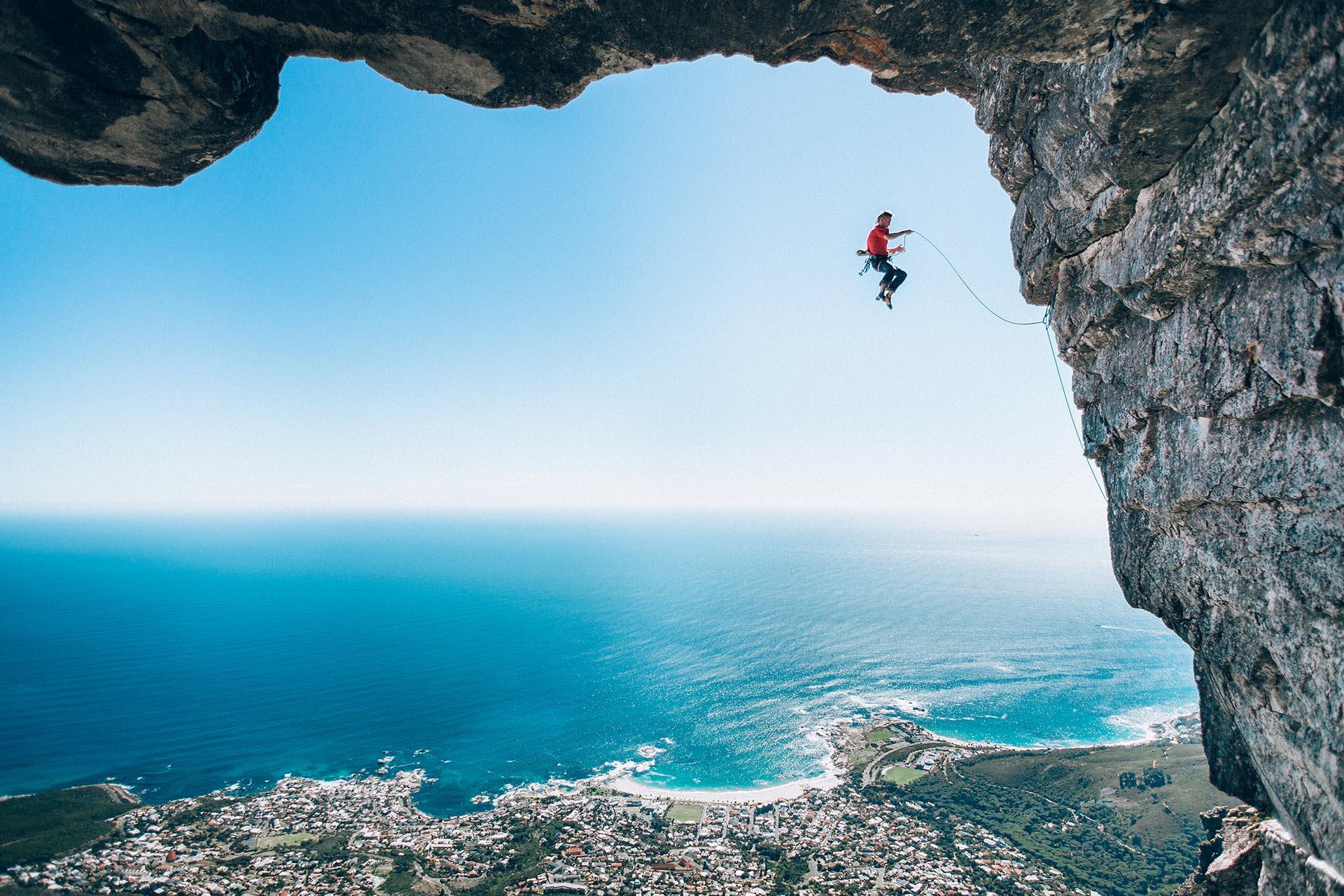 Atleta: Jamie Smith en Cape Town, Sudáfrica. Ganador de la categoría Fotografía en el aire. Fotógrafo: Micky Wiswedel