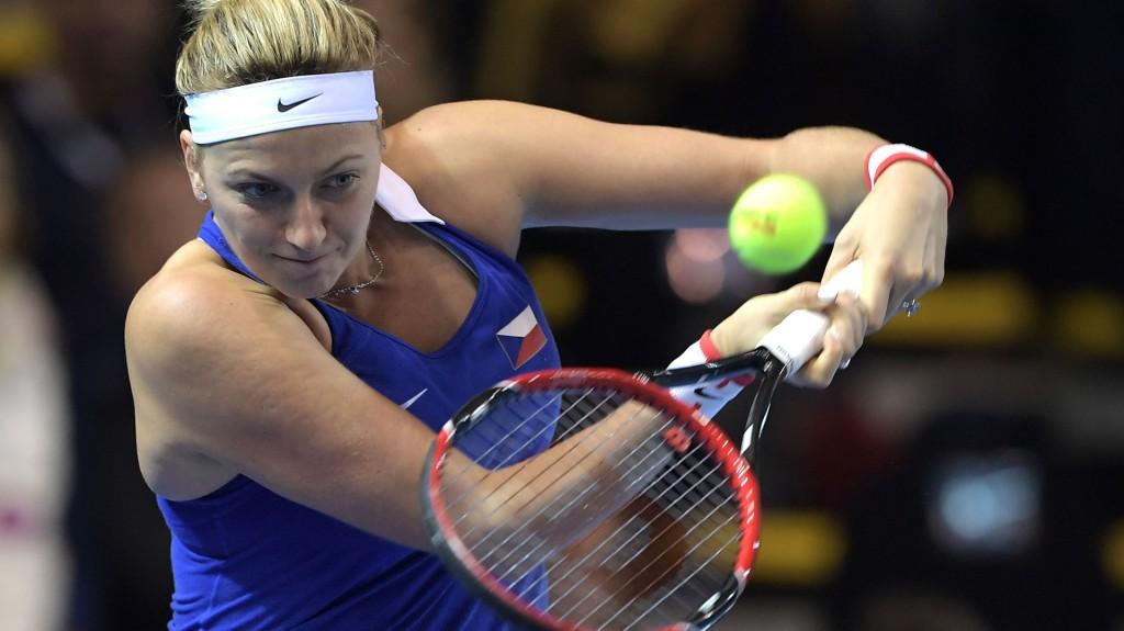 Petra Kvitova, de 26 años, se recuperaba de una fractura por estrés en un pie, sufrida en la Copa Hopman (AFP)