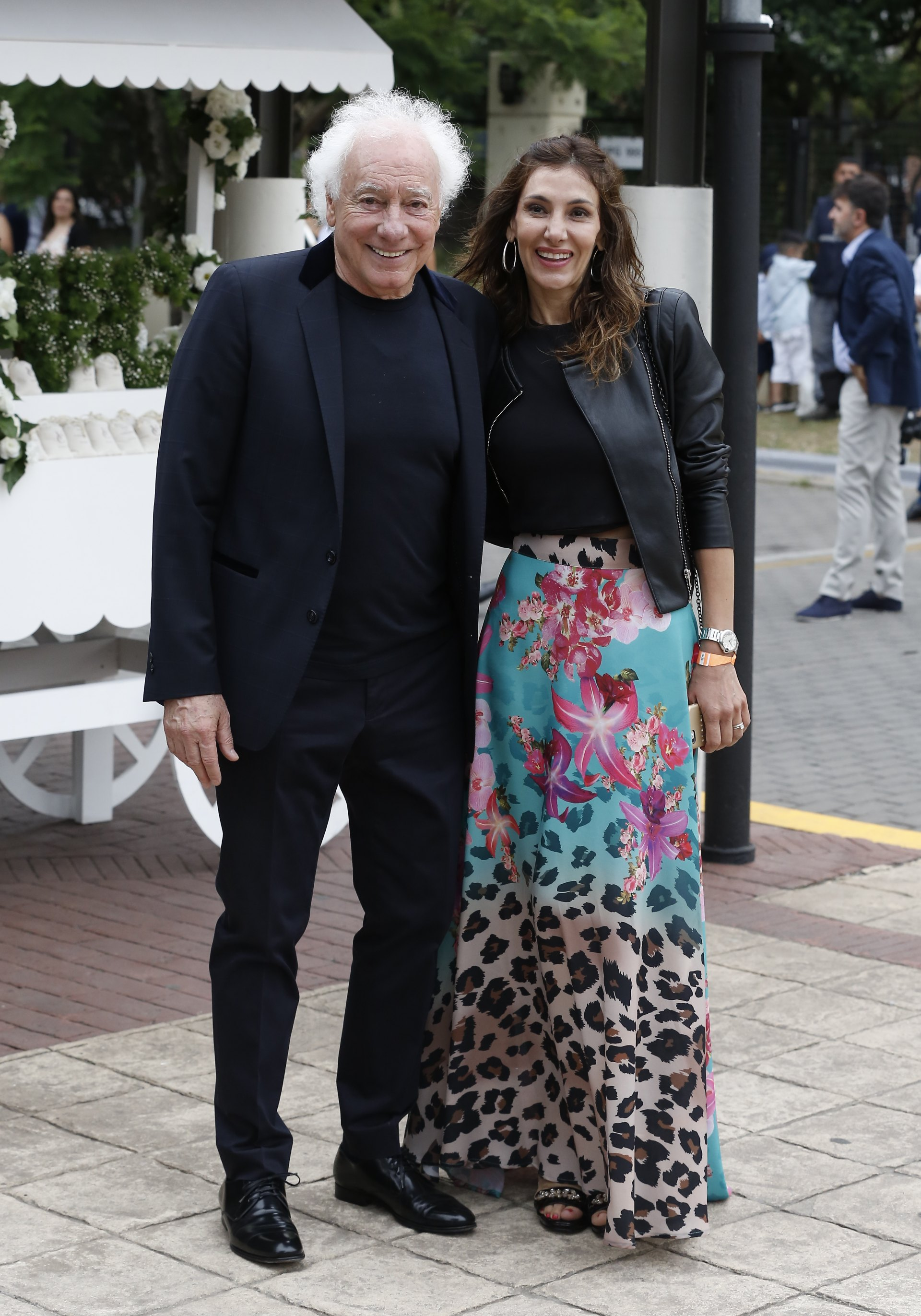Guillermo Coppola y su mujer Corina Juárez