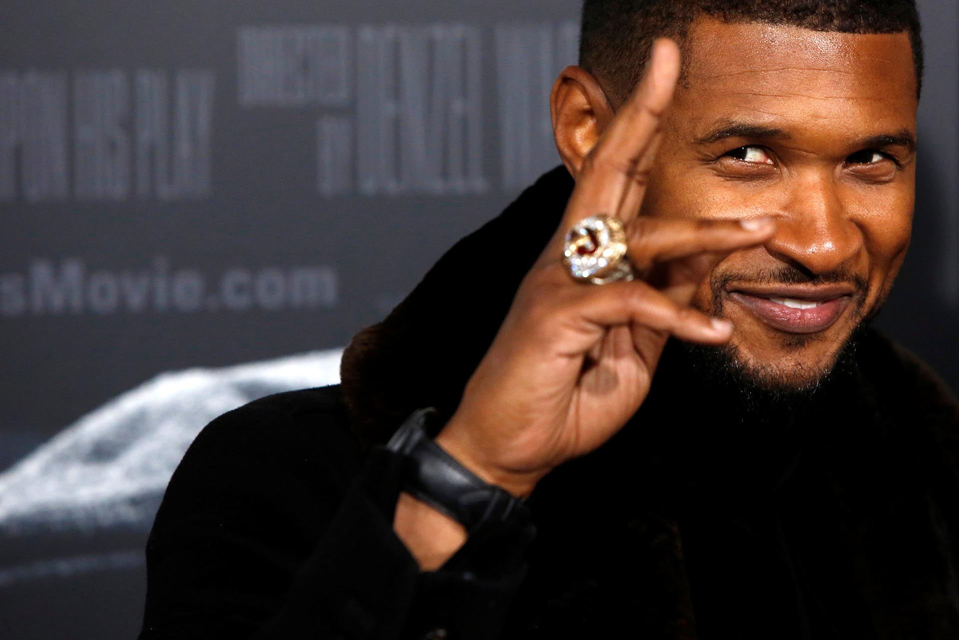 El músico Usher