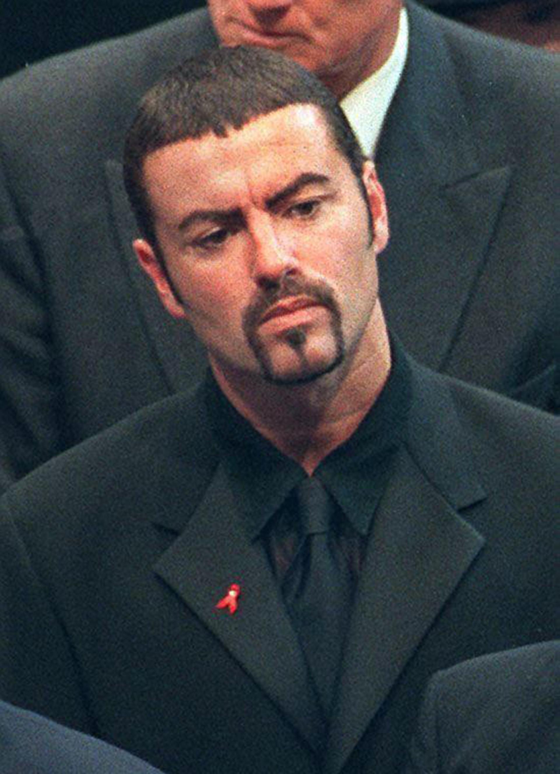George Michael, en septiembre de 1997 (AFP)