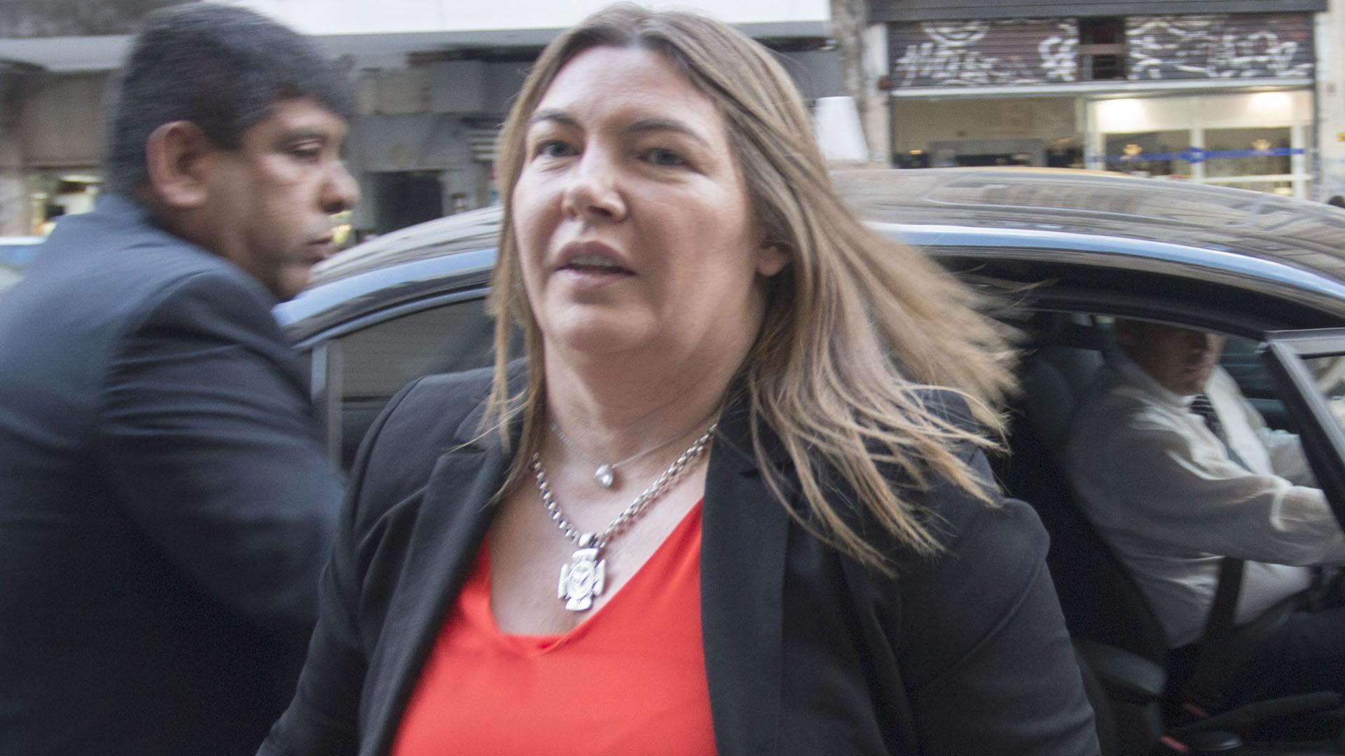Rosana Bertone, gobernadora de Tierra del Fuego, hoy en en PJ, aspira a la reelección(NA)
