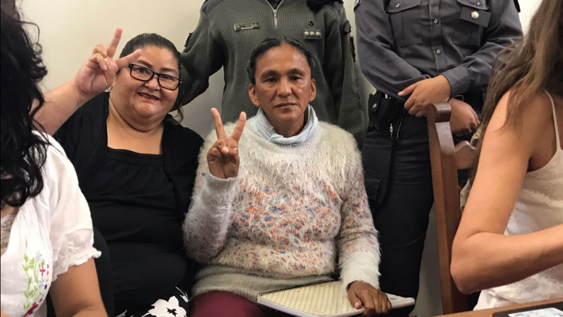 La CIDH visita a Milagro Sala en su lugar de detención
