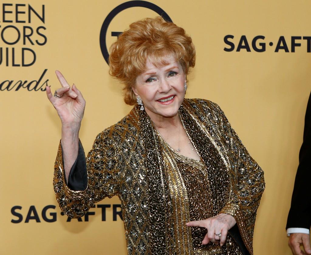 Aceptando el premio Lifetime Achievement award duramte el evento de los guionistas de Hollywood, en 2015 (Reuters)