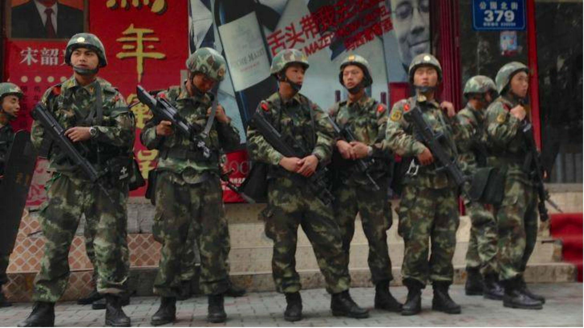 El régimen chino prometió responder duramente si Estados Unidos (Twitter)