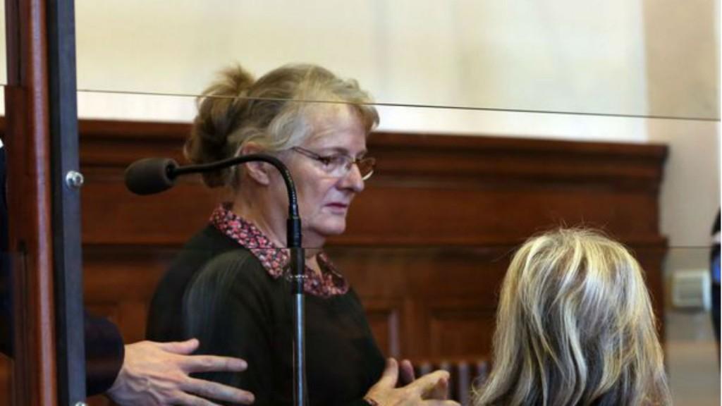 Jaqueline Sauvage en un momento del juicio