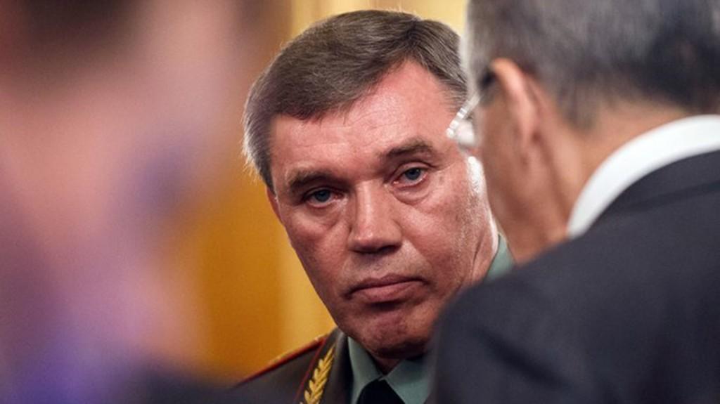 El General Valery V. Gerasimov, creador de la doctrina que lleva su nombre (AFP)