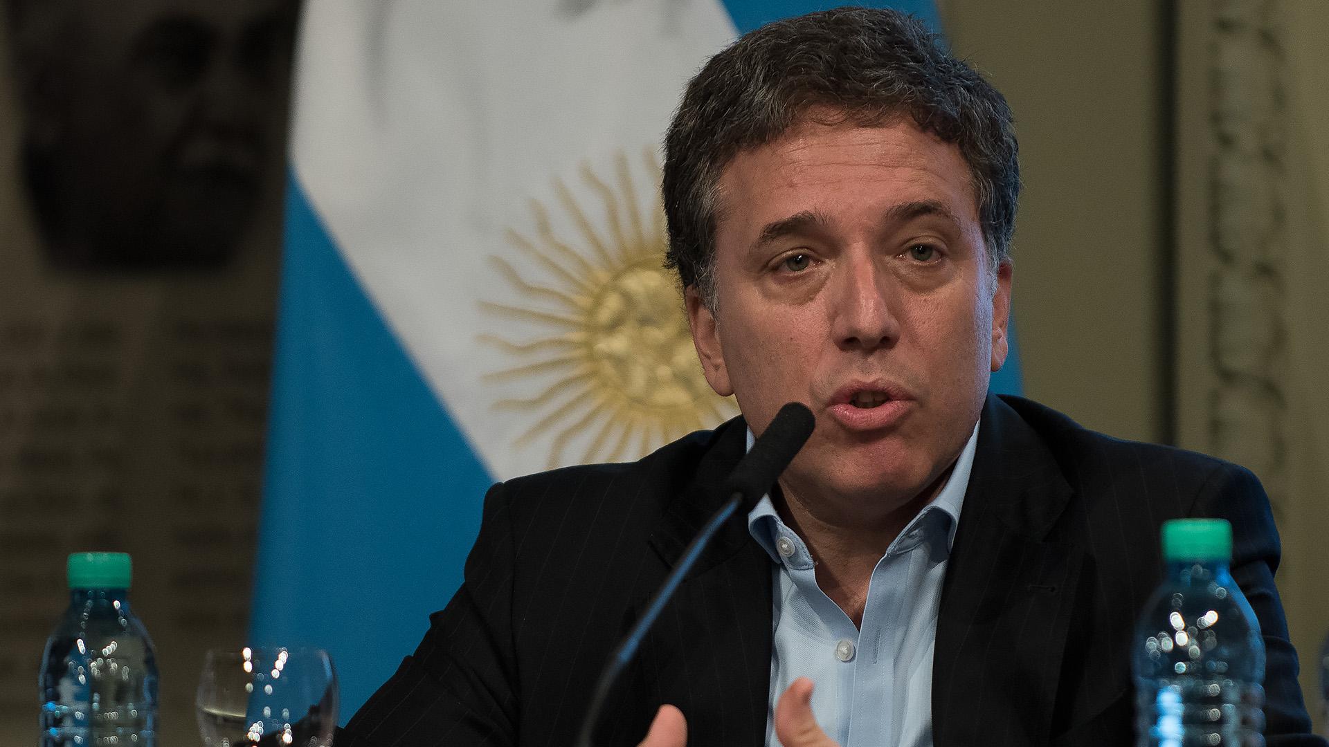 El ministro de Hacienda, Nicolás Dujovne. (Adrián Escandar)
