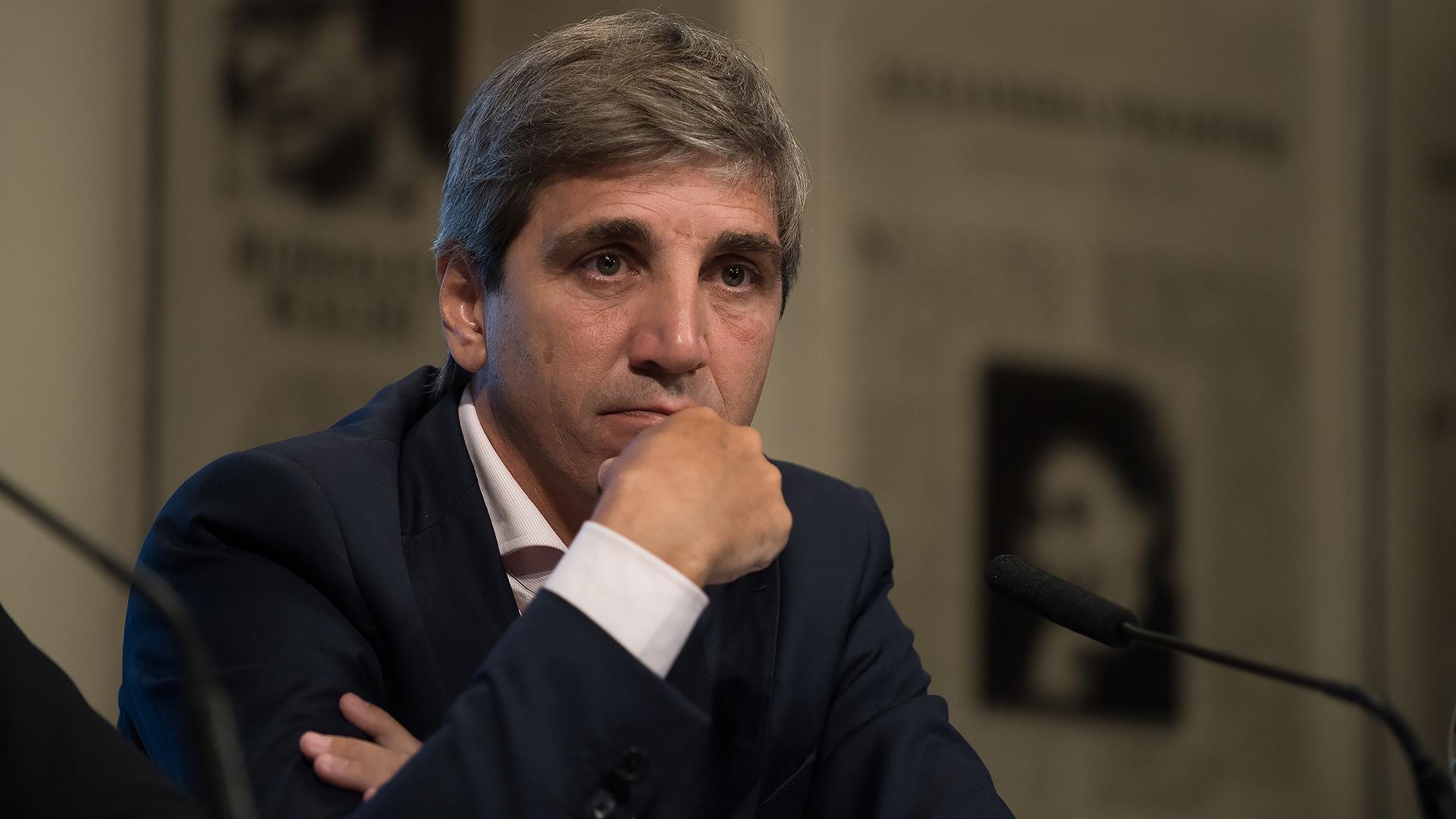Luis Caputo, ministro de Finanzas (Adrián Escandar)