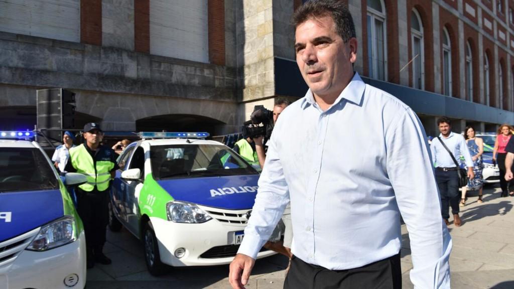 El ministro de Seguridad bonaerense, Cristian Ritondo