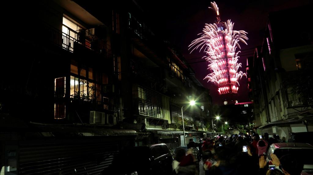 Taiwán también celebró el inicio del nuevo año