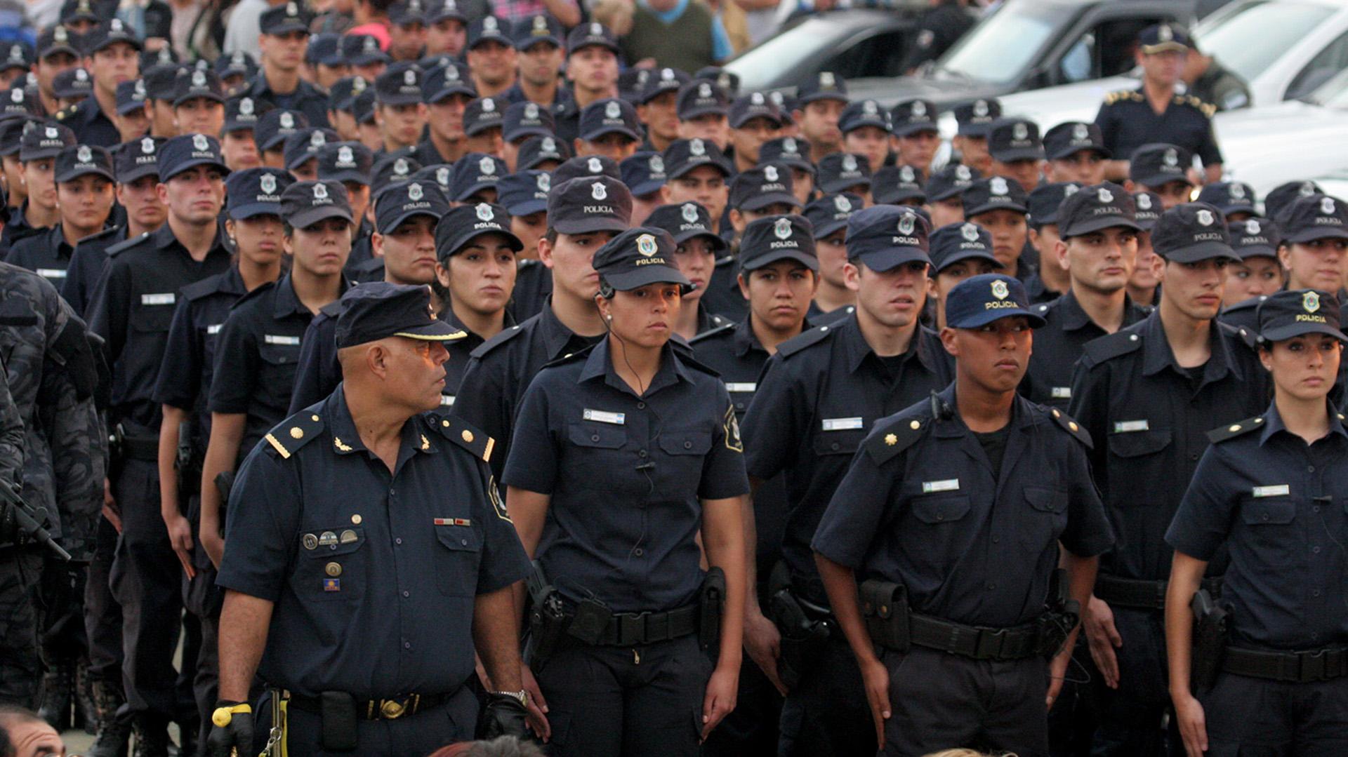 """Ritondo afirmó que en sus tres años de gestión hubo resultados """"históricos"""" en materia de control de la Policía"""