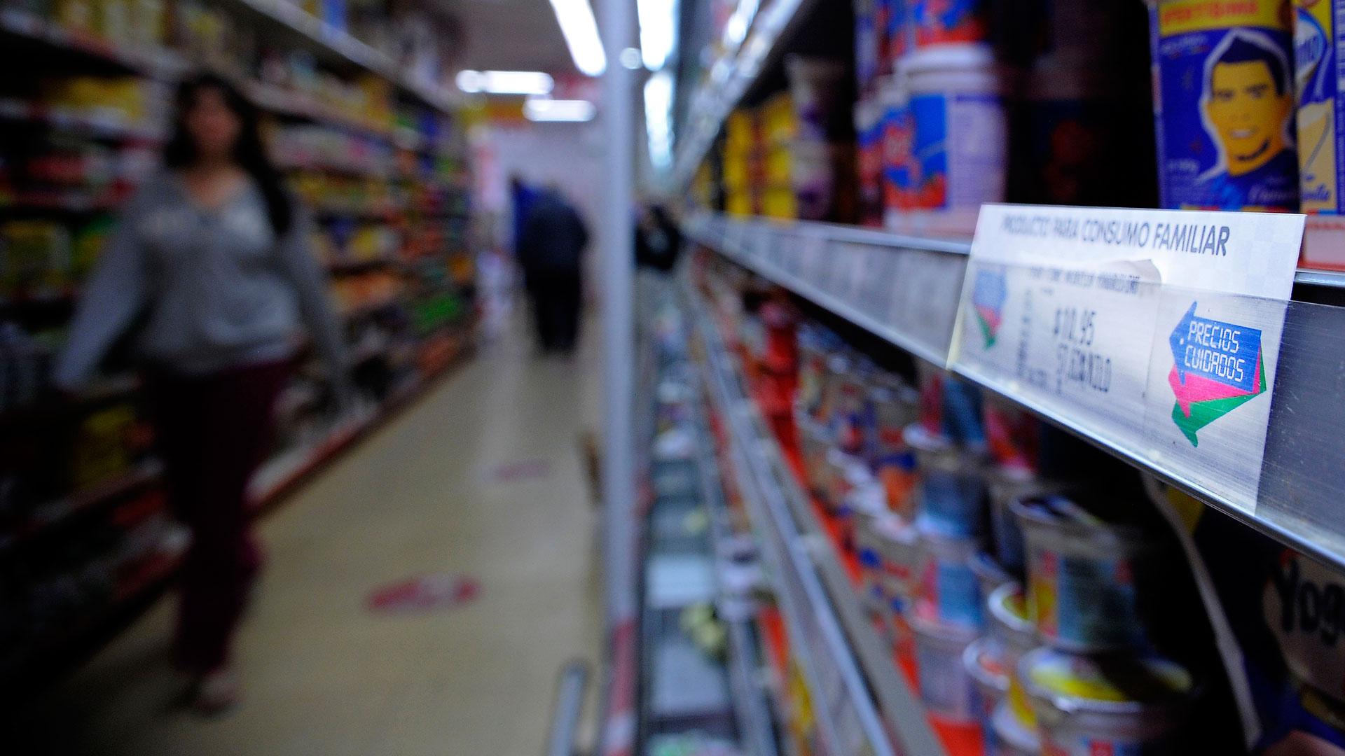 Los productos del acuerdo deben estar identificados con una etiqueta especial (Télam)
