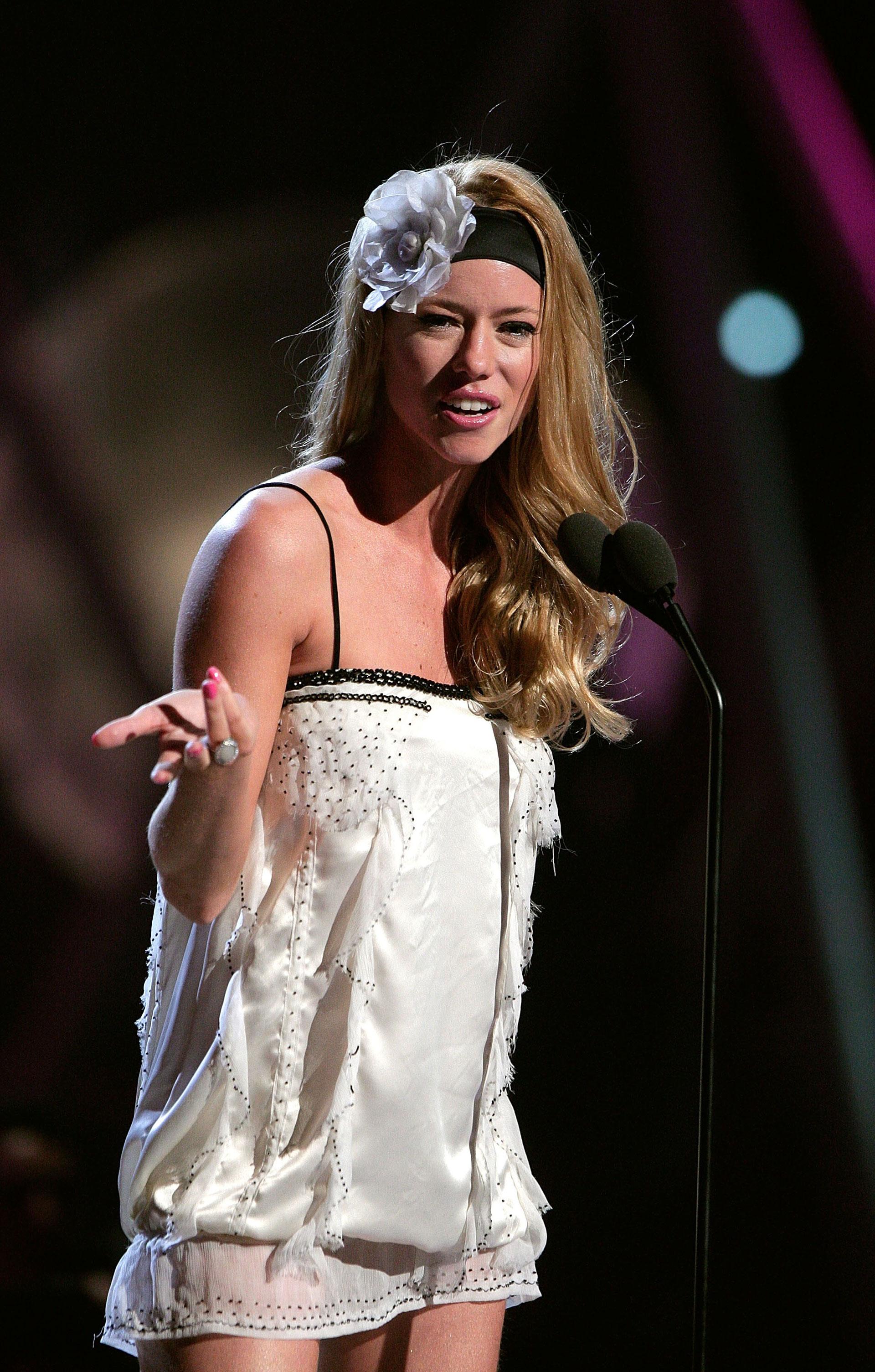 Nicole Neumann en los Premios MTV Latin America 2007