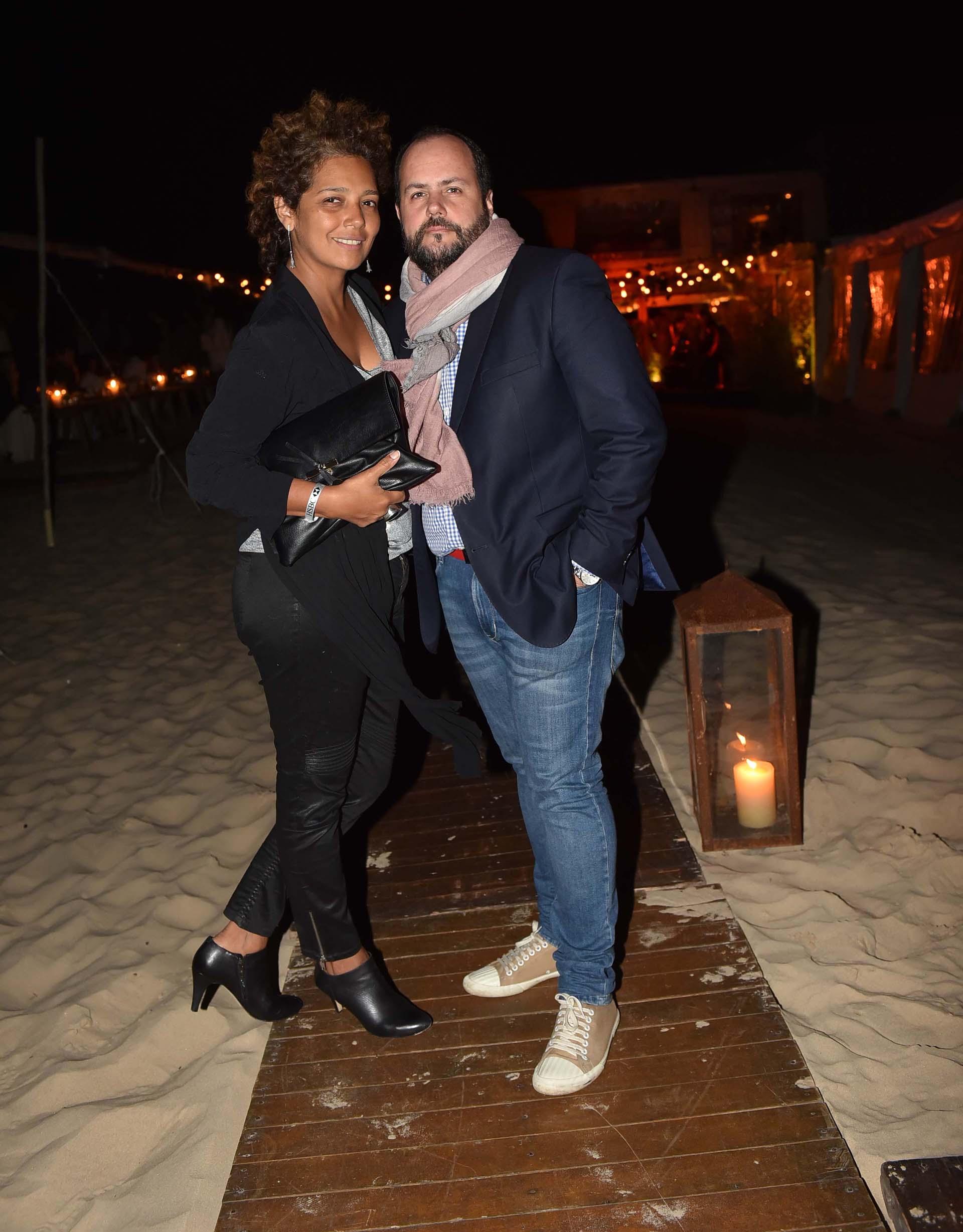 Beatriz Guerra y Gustavo Castagnino