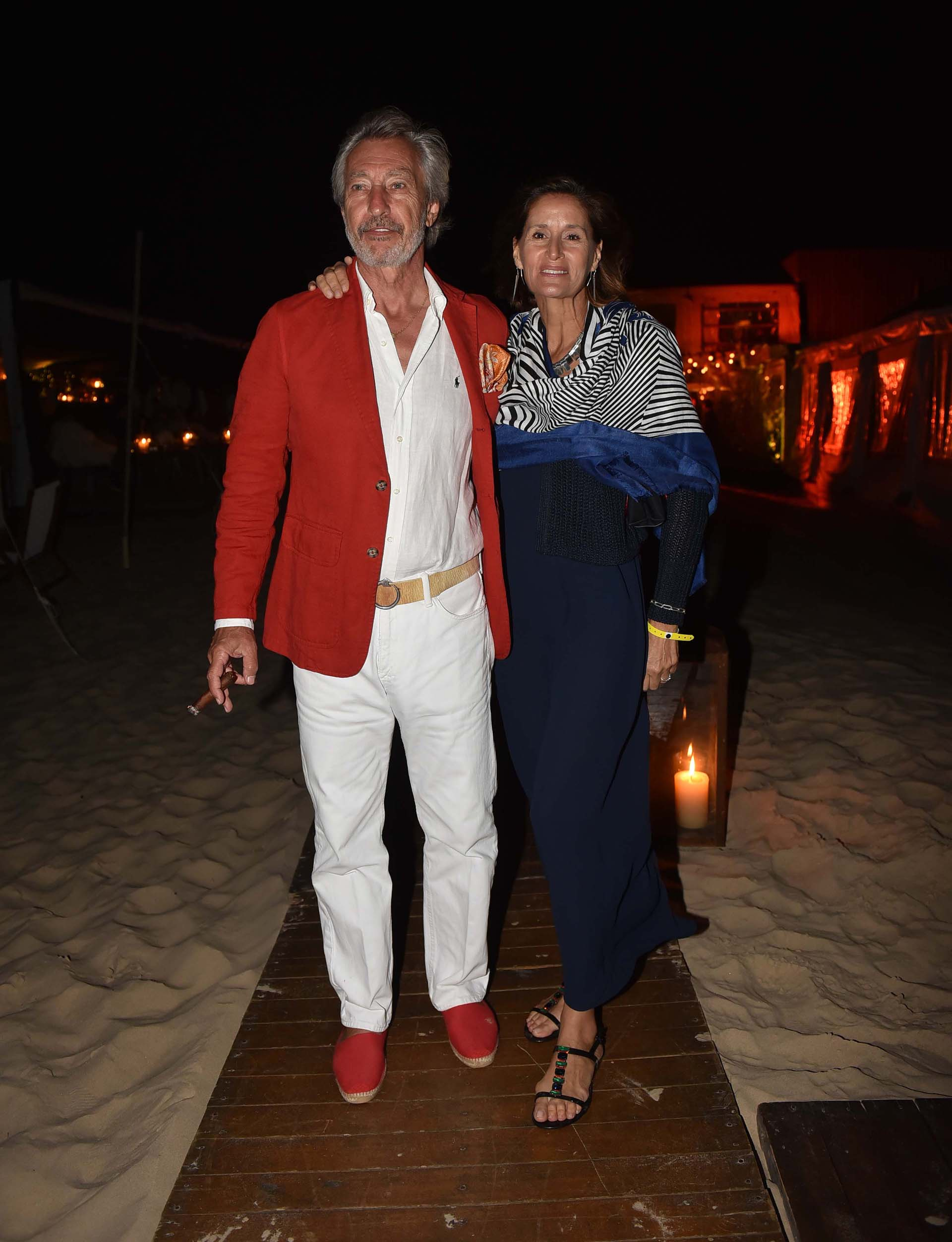 Germán Neuss y Gabriela Flores Pirán