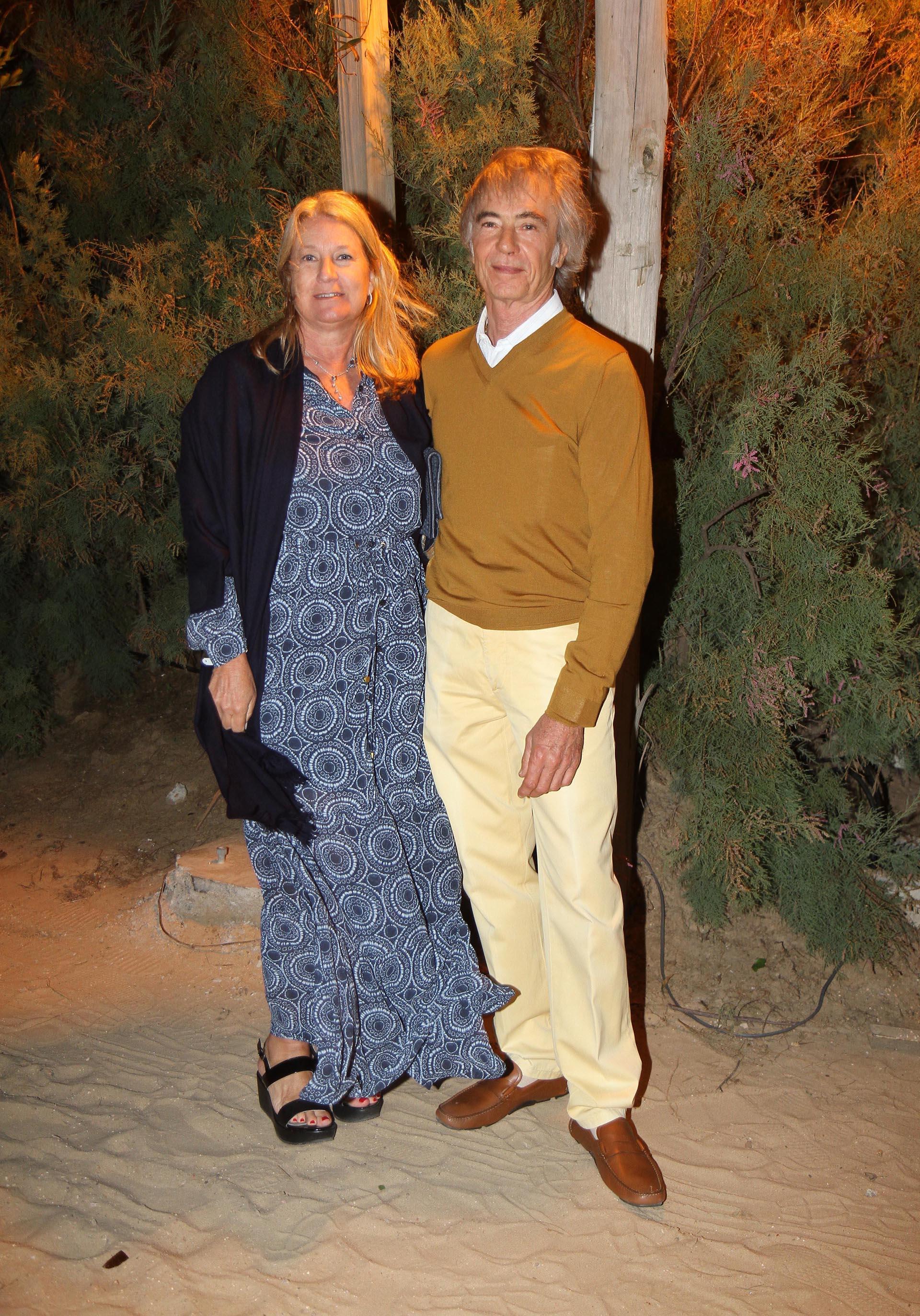 María Taquini de Blaquier y Carlos Blaquier