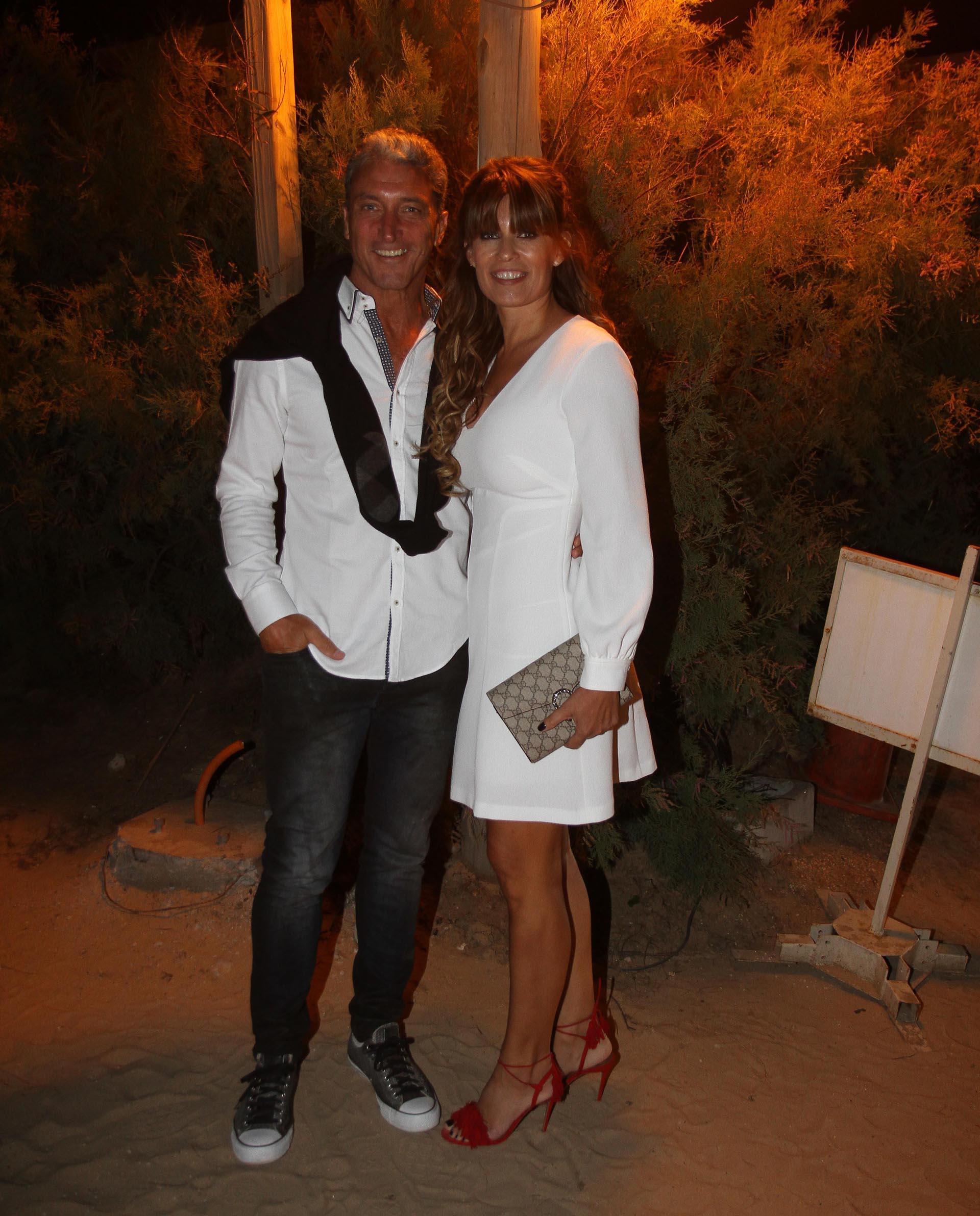 José Scioli y María Pinto