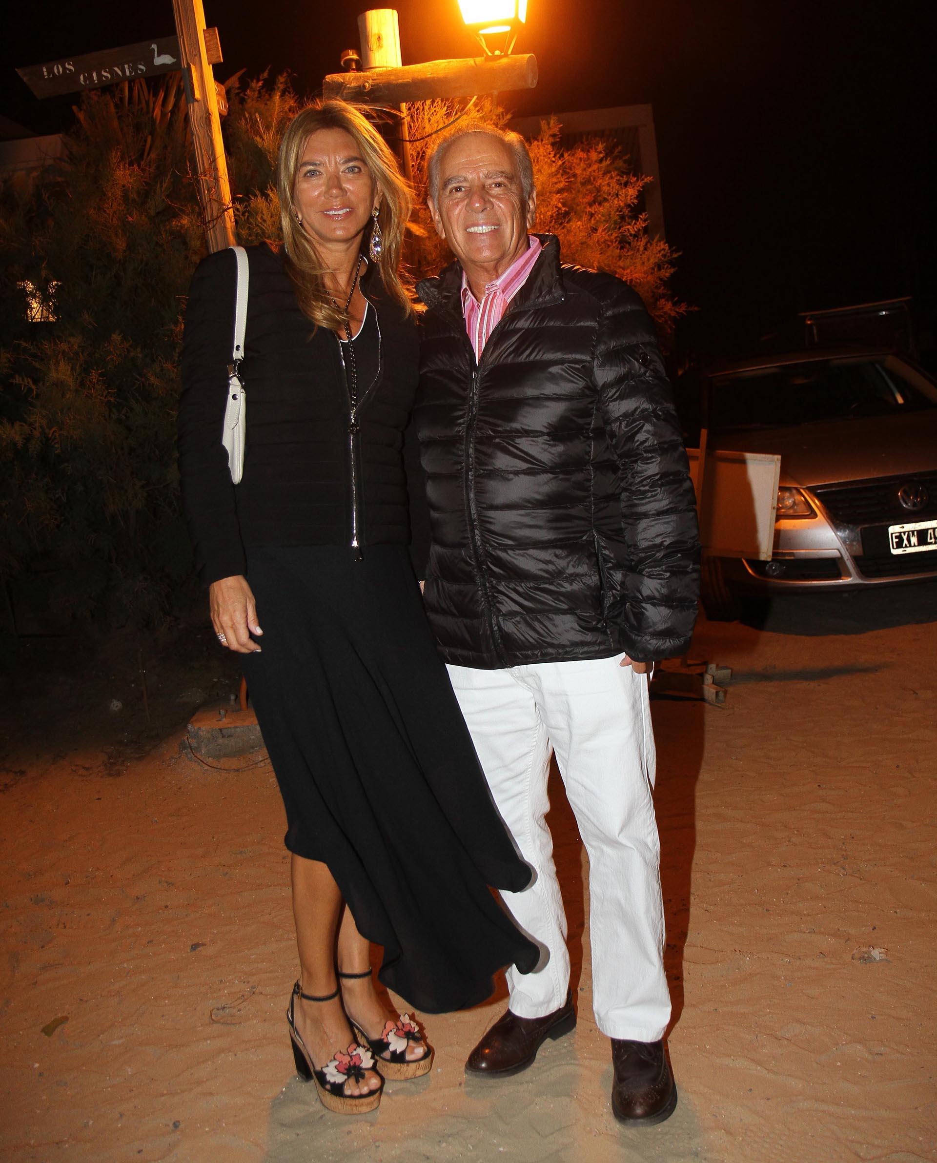 Bettina y Alejandro Bulgheroni