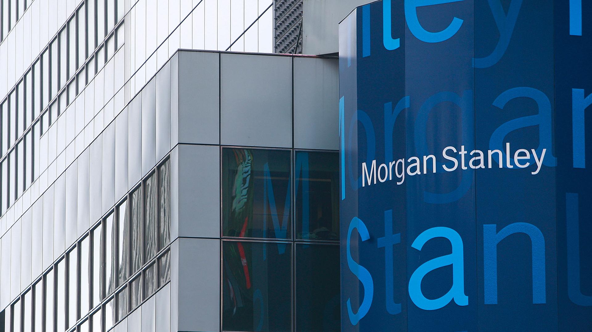 Morgan Stanley es una de las empresas del sector en explorar el potencial de los criptoactivos (Getty Images)