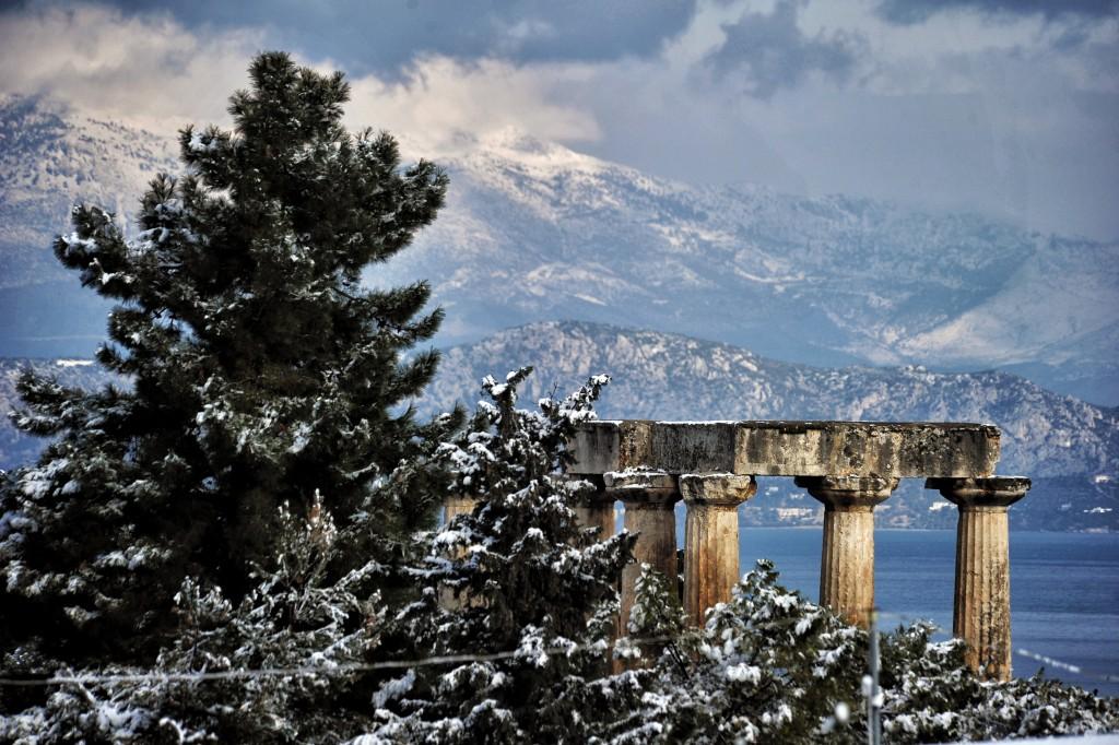 Templo de Apolo, Grecia (AFP)