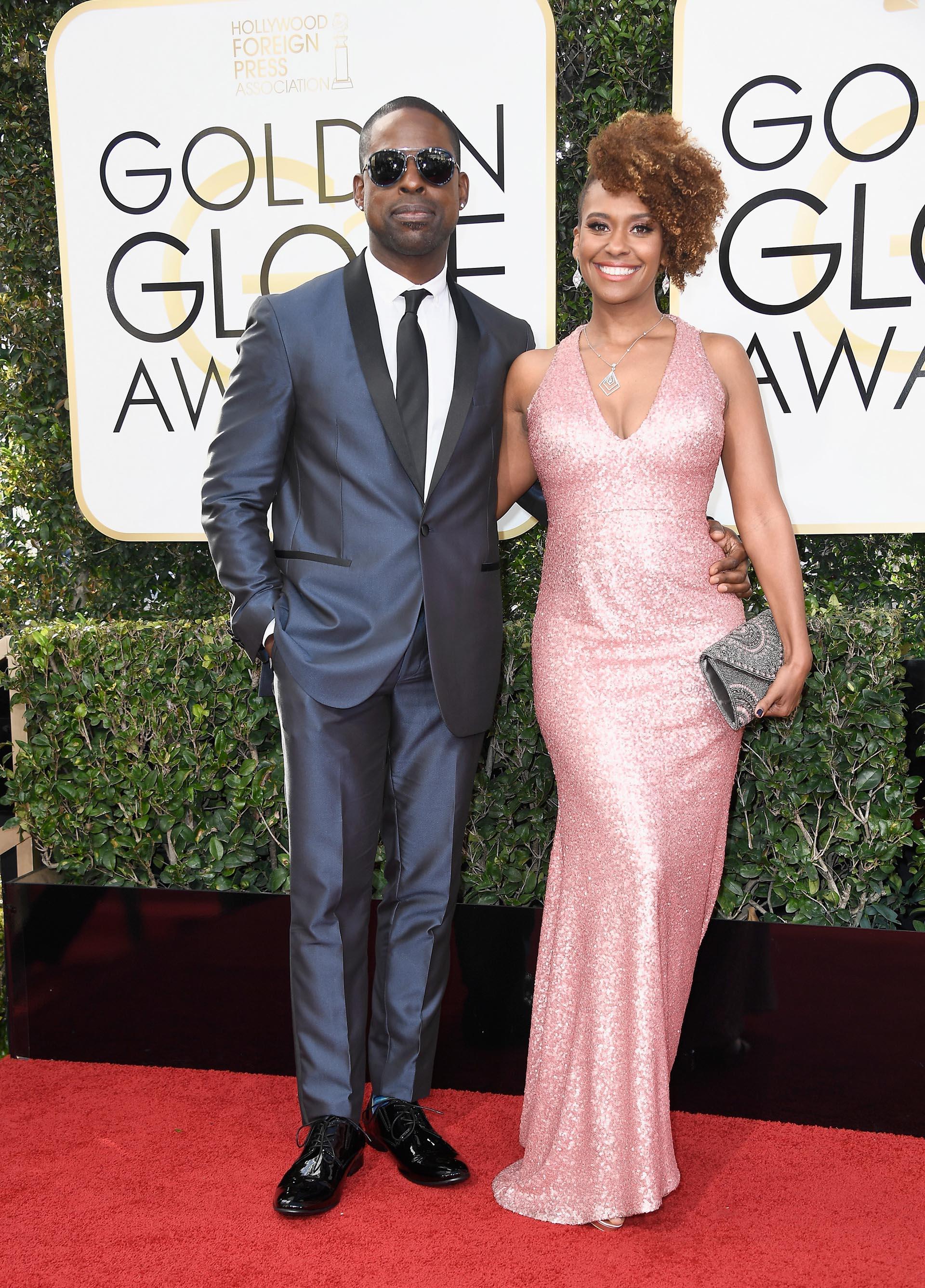 Sterling K. Brown y Ryan Michelle Bathe