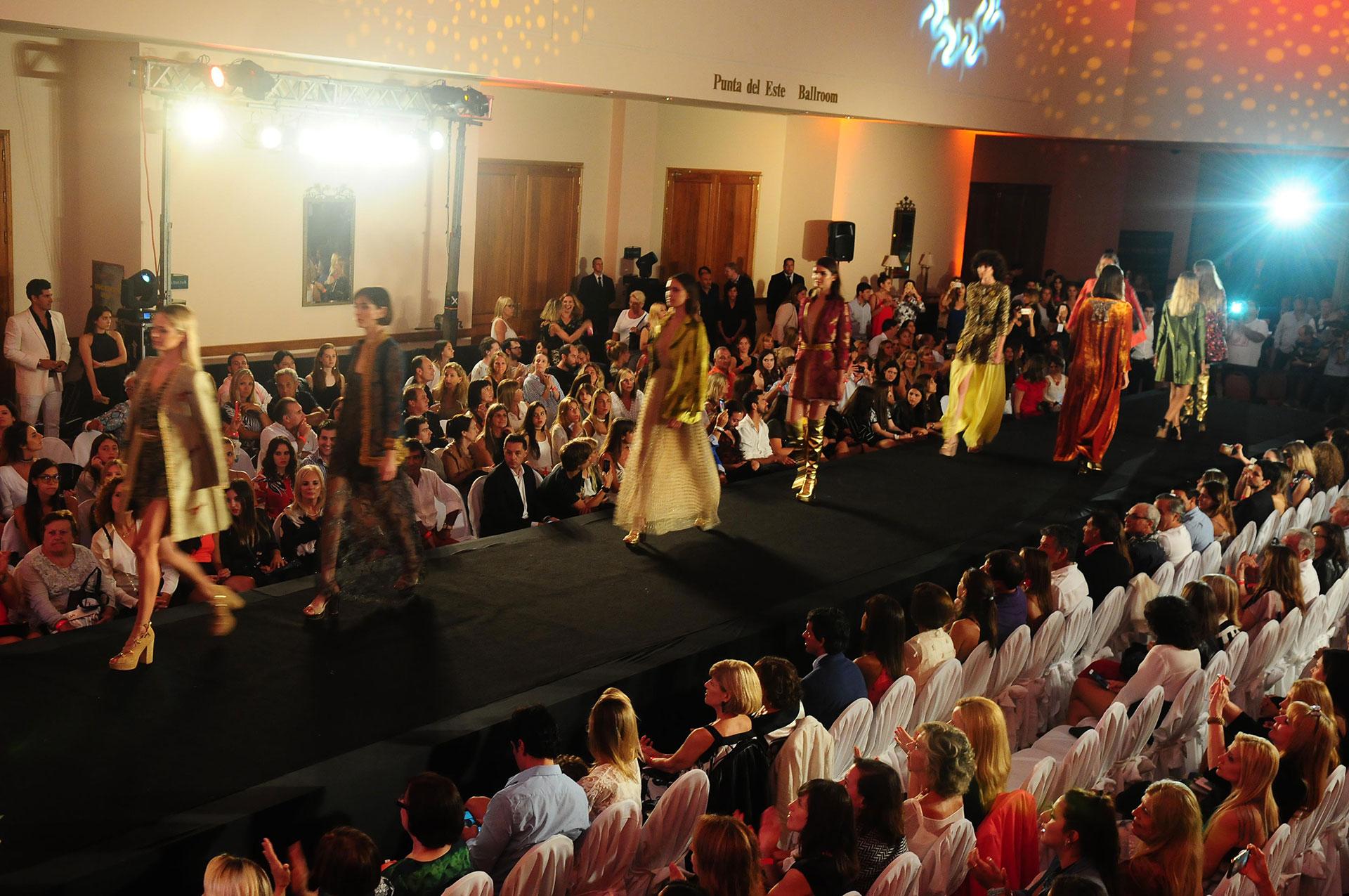 La primera edición del Enjoy Fashion Luxury, uno de los eventos de moda más importantes de la región y de la temporada esteña, tuvo lugar en uno de los mejores escenarios del verano, el hotel Enjoy Punta del Este