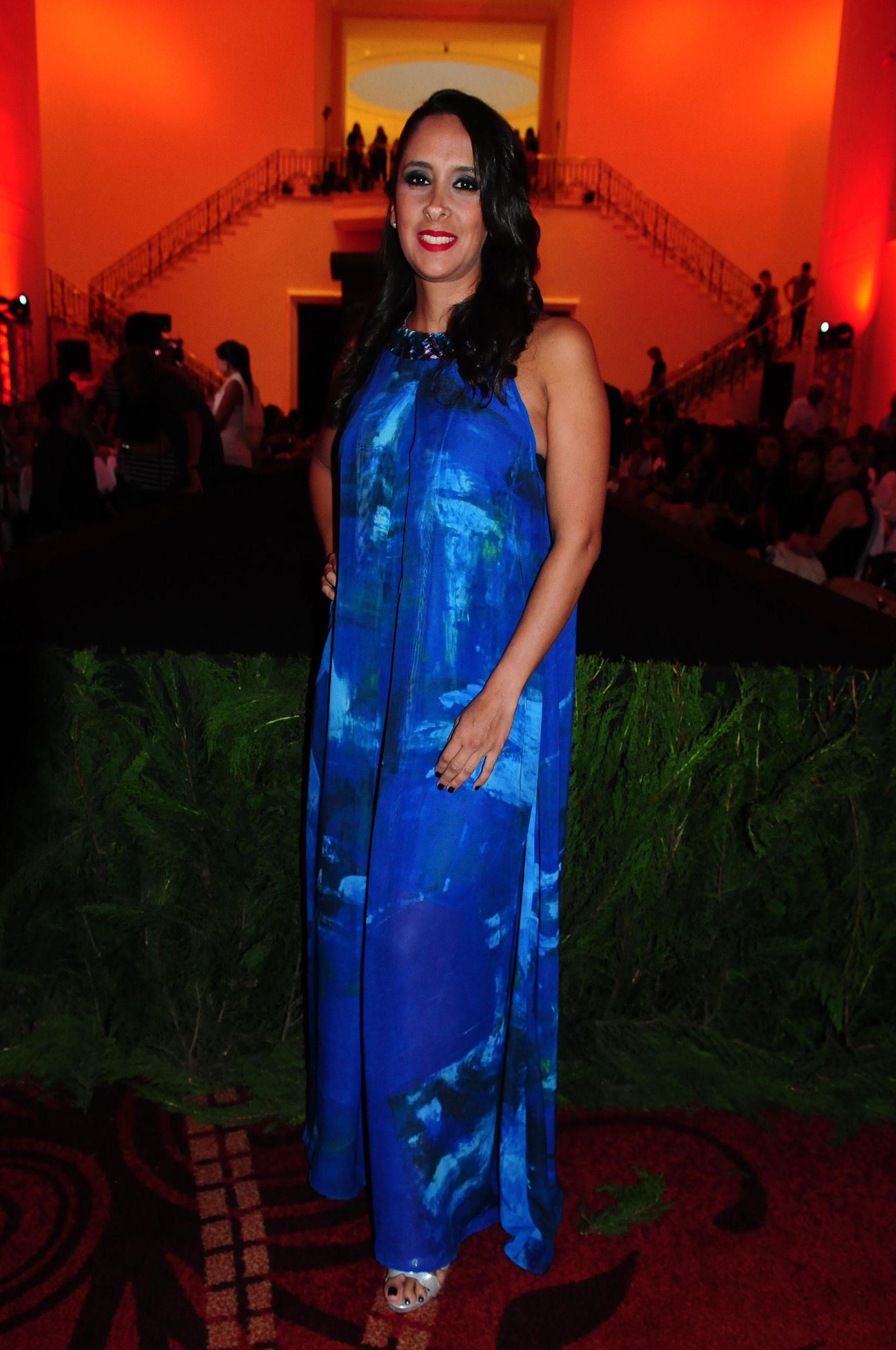 Vanesa de Noble Herrera, entre las invitadas especiales al desfile