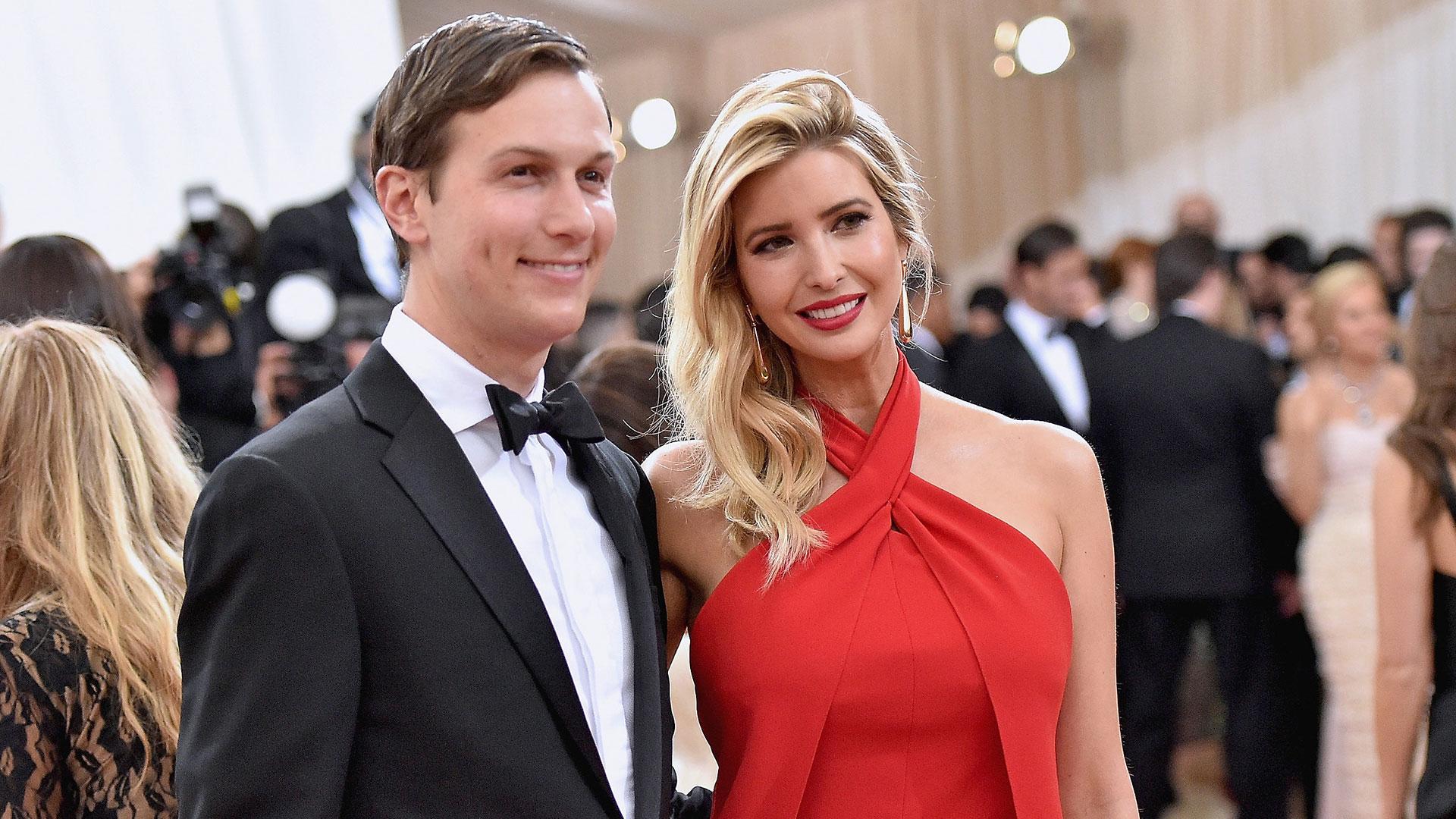Jared Kushner e Ivanka Trump se casaron en 2009 y tienen tres hijos. (Getty Images)