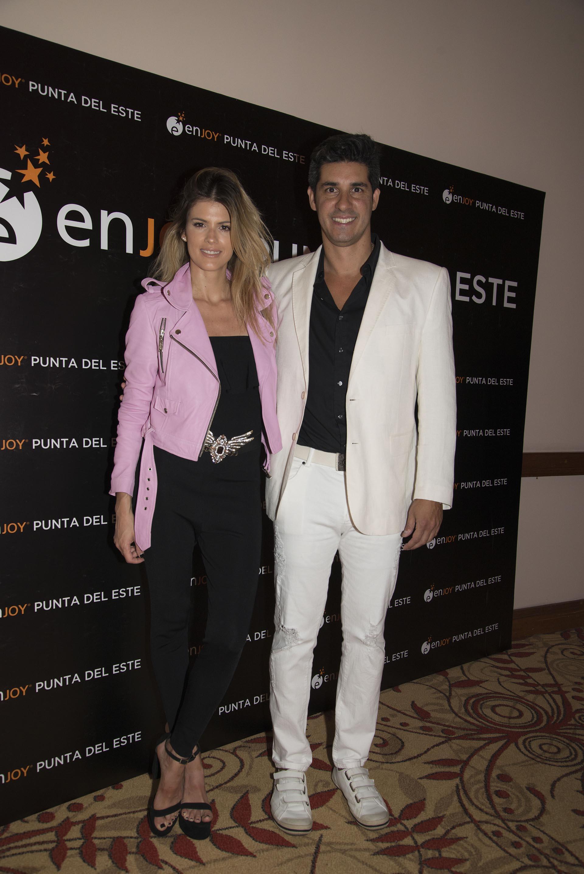 María del Cerro y Javier Azcurra
