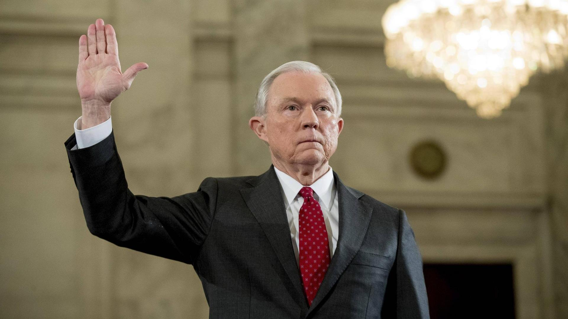 La audiencia del fiscal Jeff Sessions por el