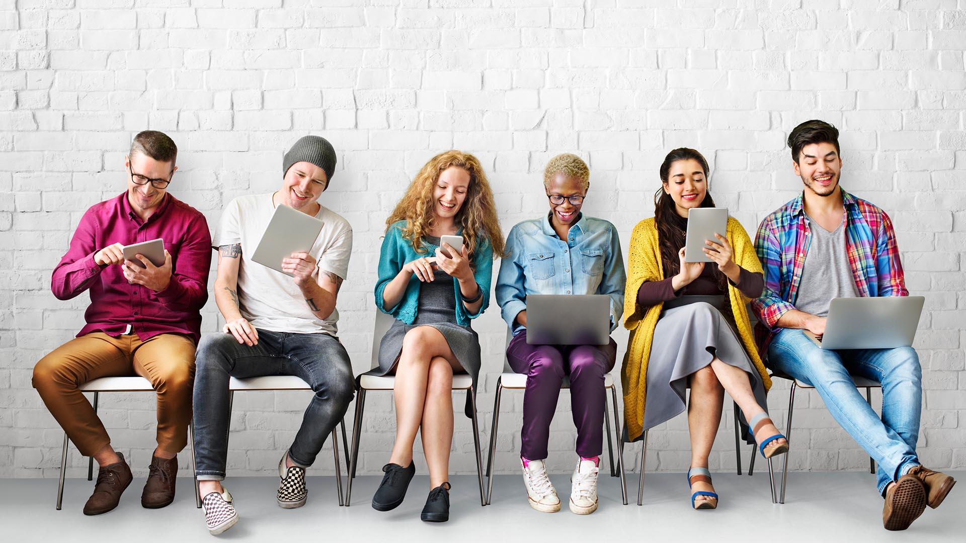 La generación del milenio es narcisista, intrínsecamente social e impaciente (iStock)