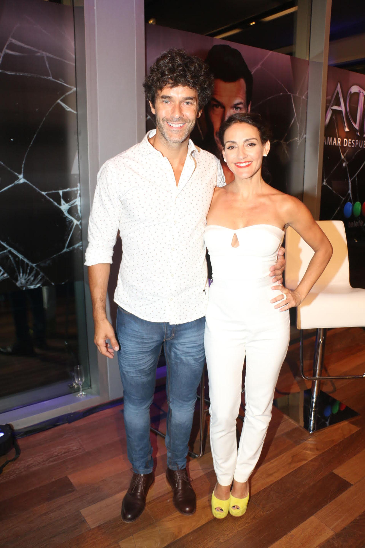 Mariano Martínez junto a Eleonora Wexler (Verónica Guerman / Teleshow)