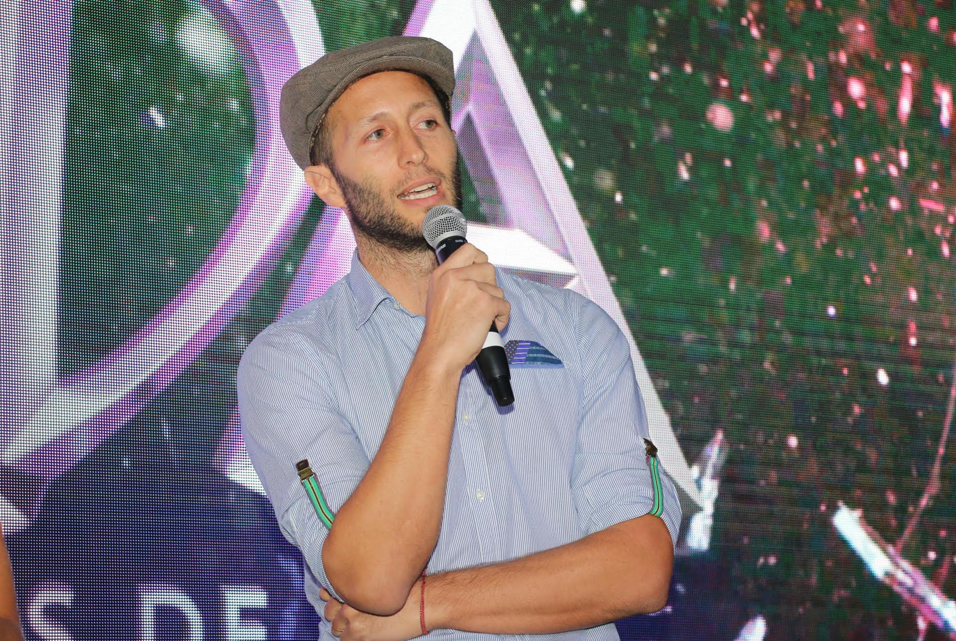 Thomas Yankelevich hablando del estreno de la nueva apuesta de Telefe