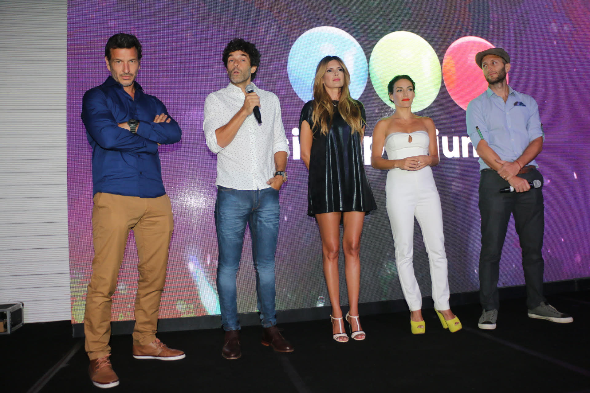 """Los cuatro protagonistas de """"Adda, Amar después de amar"""""""
