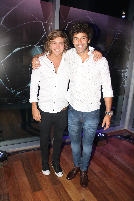 Franco Masini y Mariano Martínez