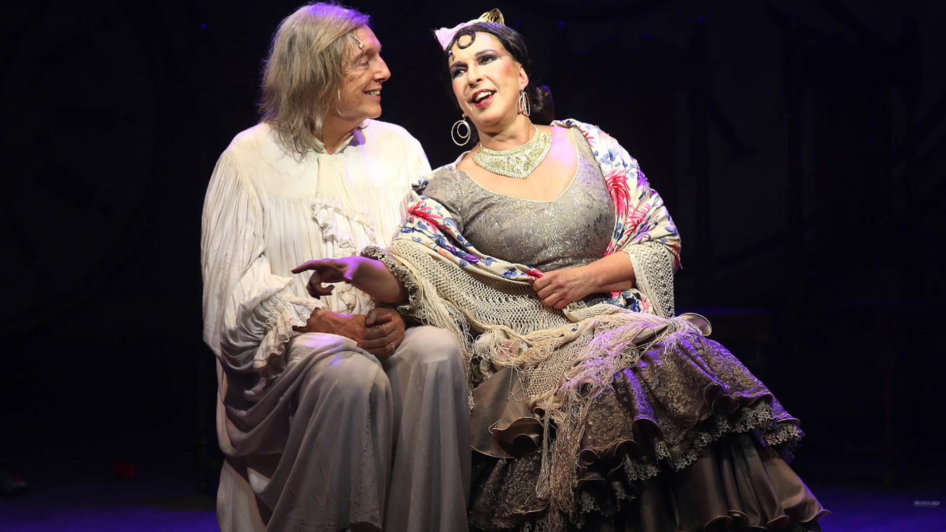 """Se estrenó """"Lord"""", el musical con Pepe Cibrián y Georgina Barbarossa (Verónica Guerman / Teleshow)"""