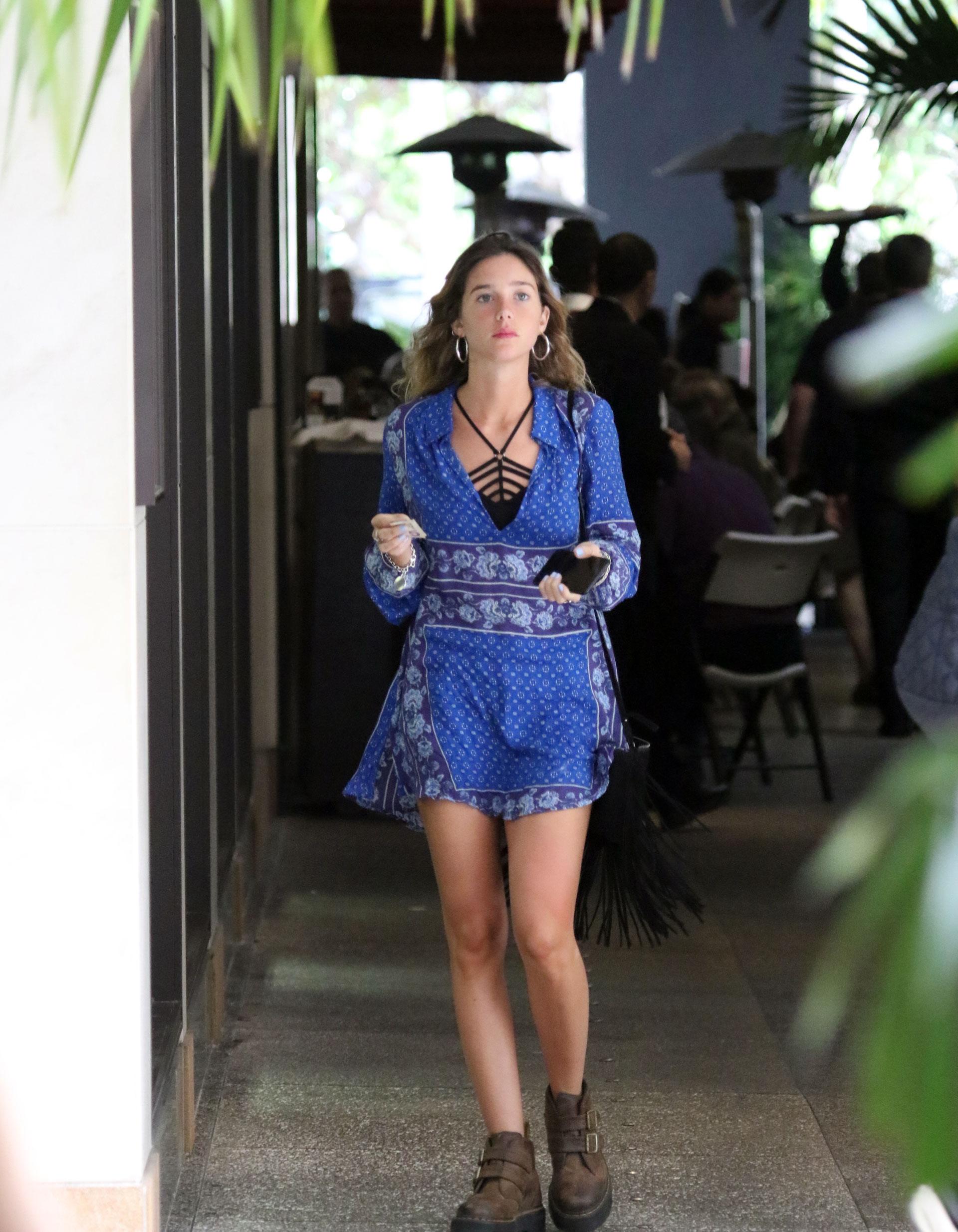Lucía Celasco, de shopping en Miami (Luis Fernández / Teleshow)