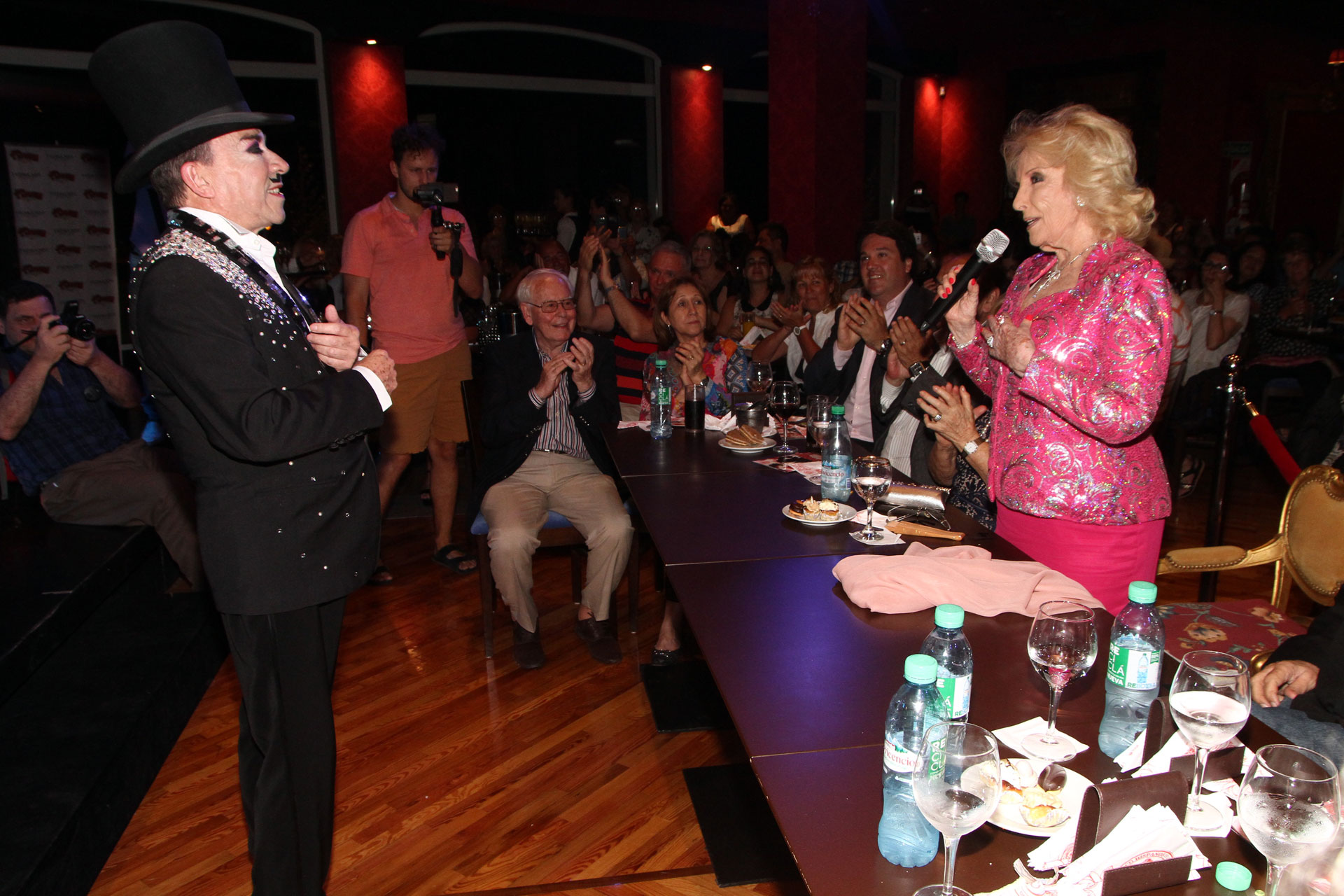 "Mirtha Legrand fue a ver ""Flowers"", el musical de Aníbal Pachano en Mar del Plata (Eduardo Aguada / Teleshow)"