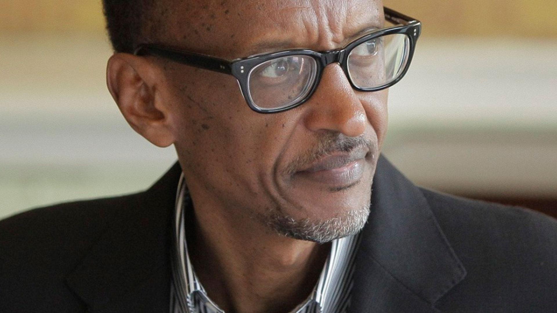 Paul Kagame, líder del Frente Patriótico Ruandés y hombre fuerte de Ruanda desde 1994