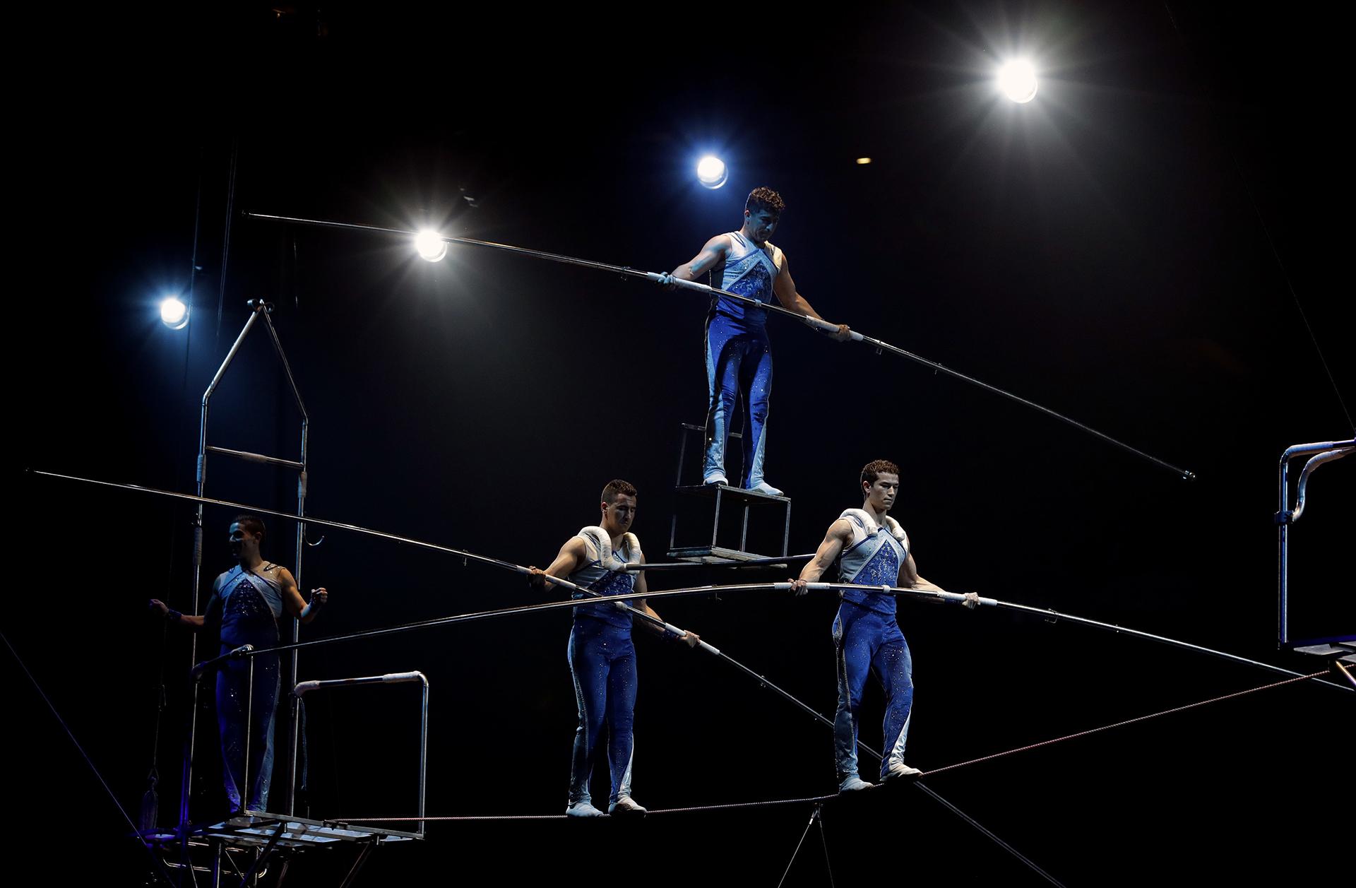 El circo fue el espectáculo más popular en Estados Unidos durante gran parte del siglo XIX y XX, pero comenzó a decaer en los últimos 50 años (AP)