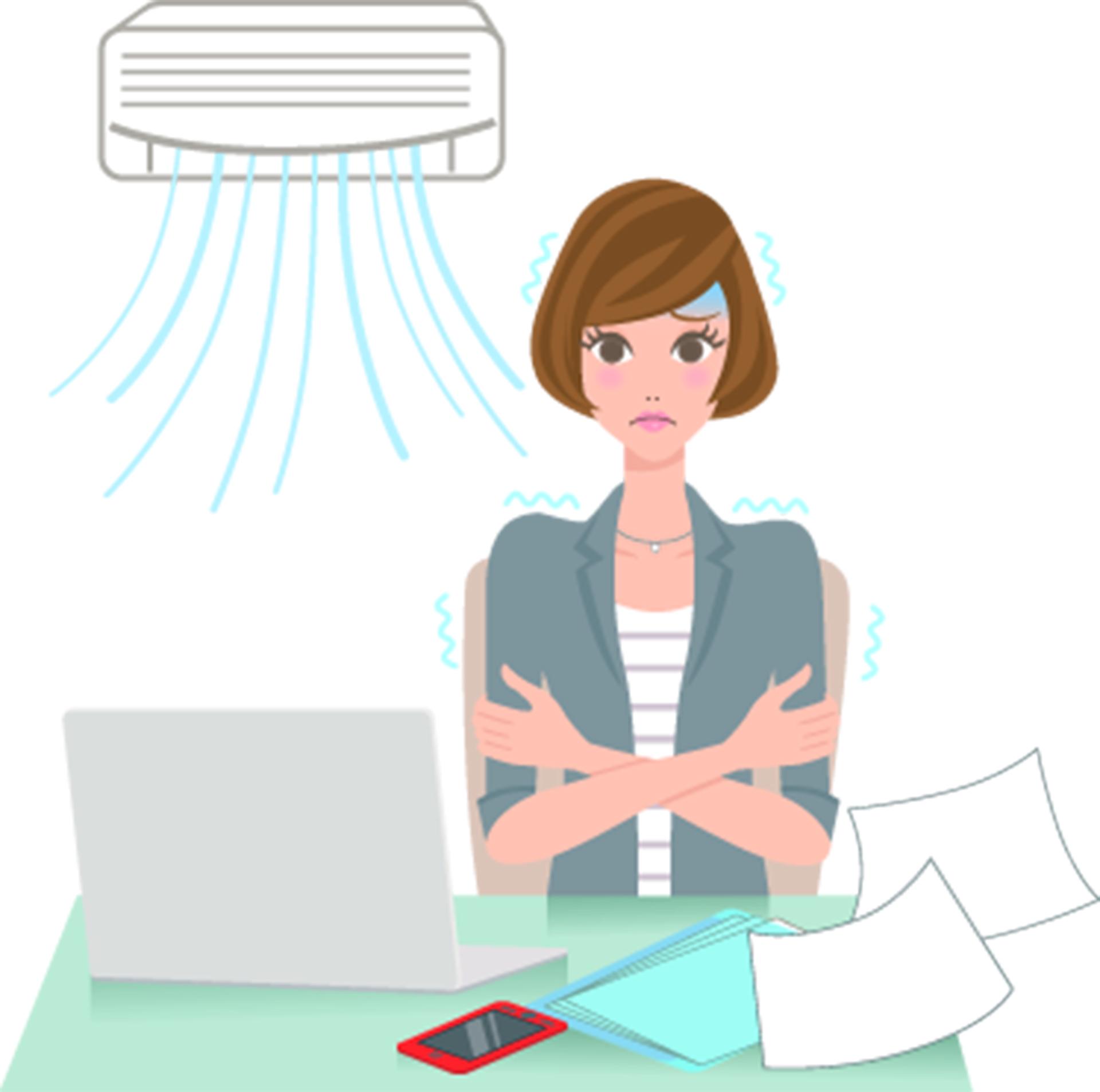 El aire acondicionado en las oficinas puede ser la salvación o el problema (iStock)