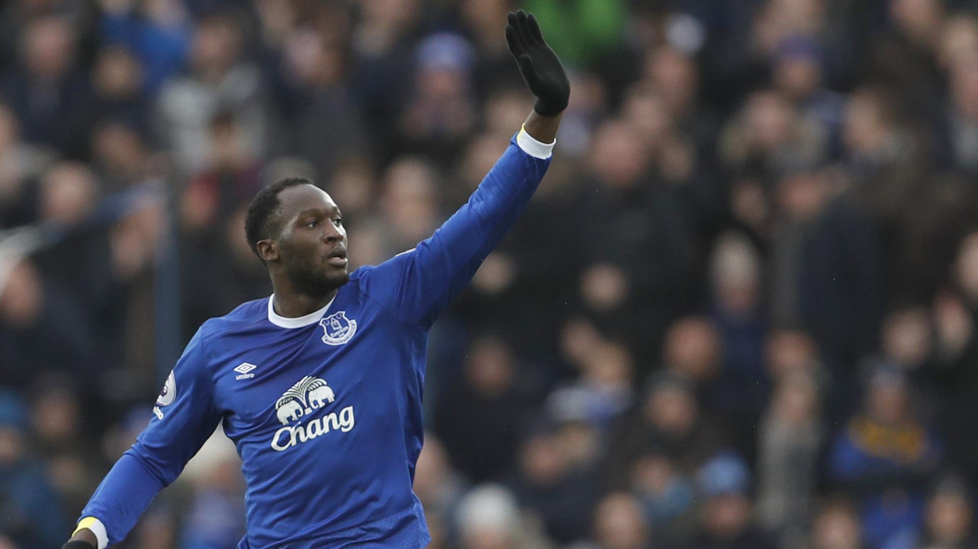 Romelu Lukaku,marcó 88 goles en 166 partidos en su paso Everton (Reuters)