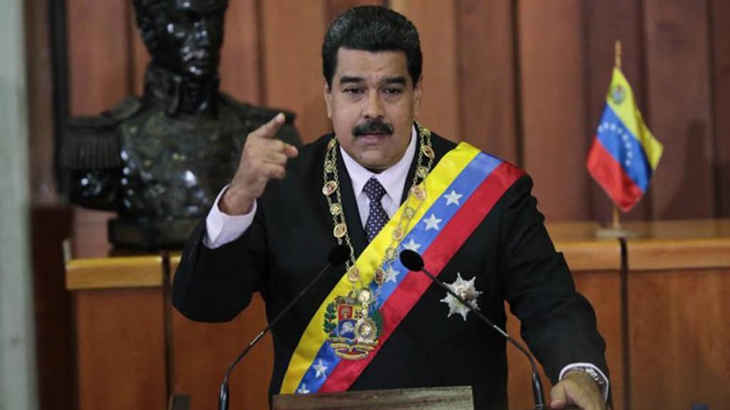Nicolás Maduro presenta su mensaje anual en el Tribunal Supremo (@DPresidencia)