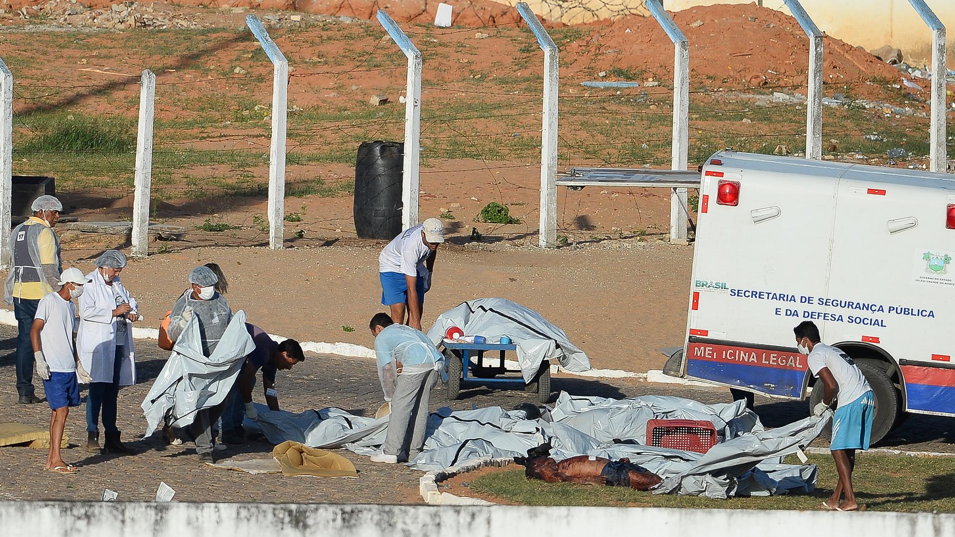 Reiteran los cadáveres de la cárcel de Alcaçuz