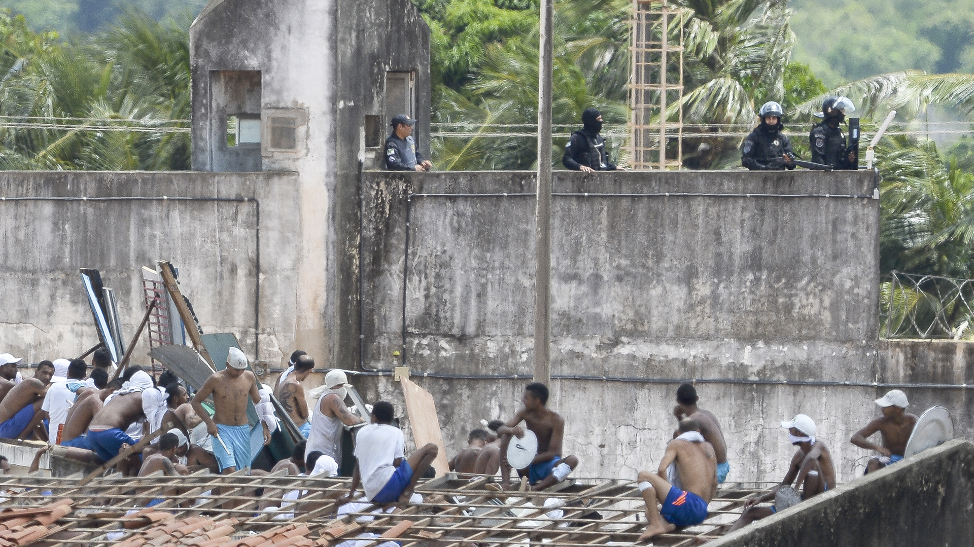 En los últimos días, 134 prisioneros fueron asesinados en las prisiones de Brasil