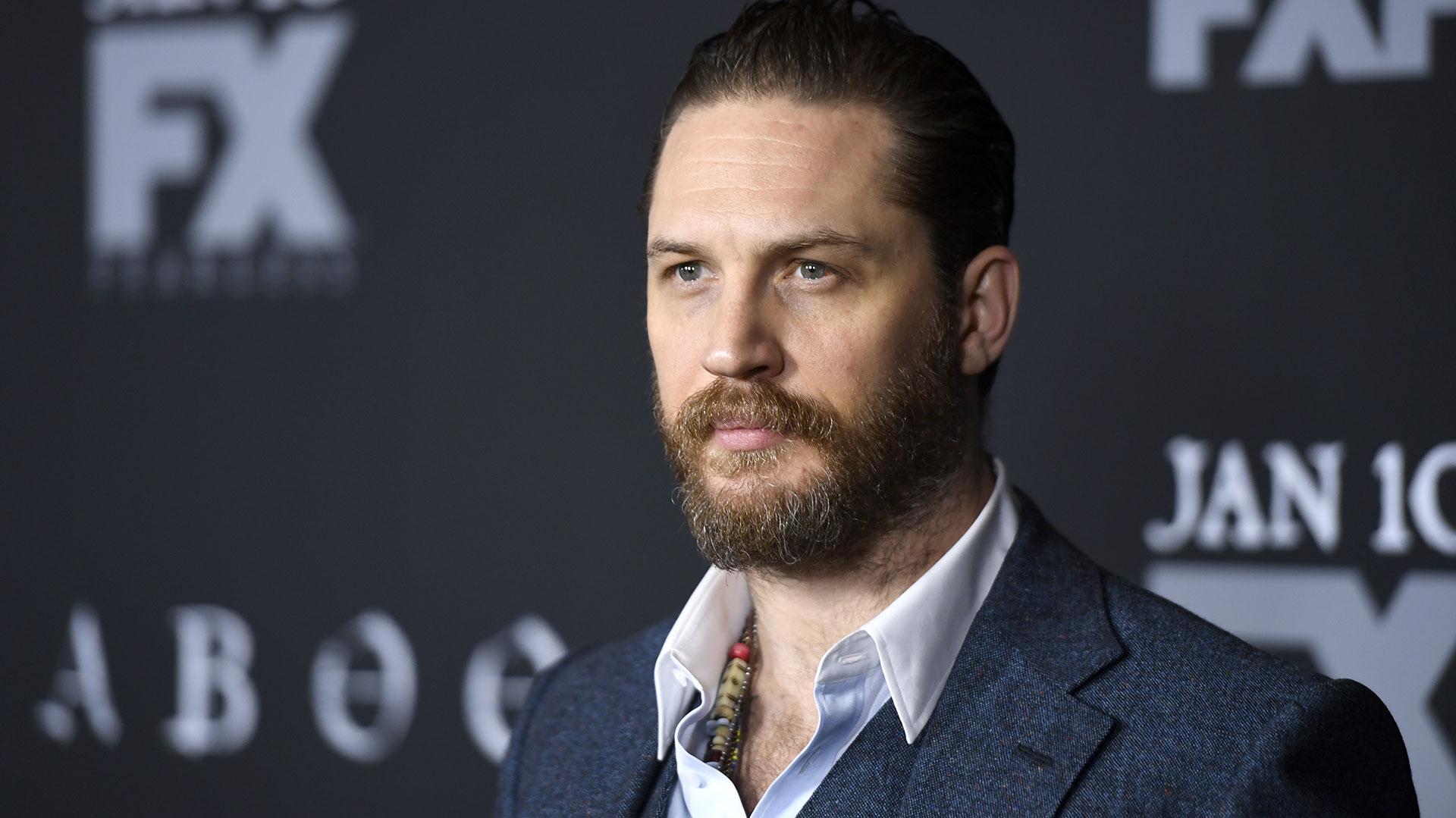 """Tom Hardy fue nominado al Oscar como mejor actor secundario por la película """"El Renacido"""""""